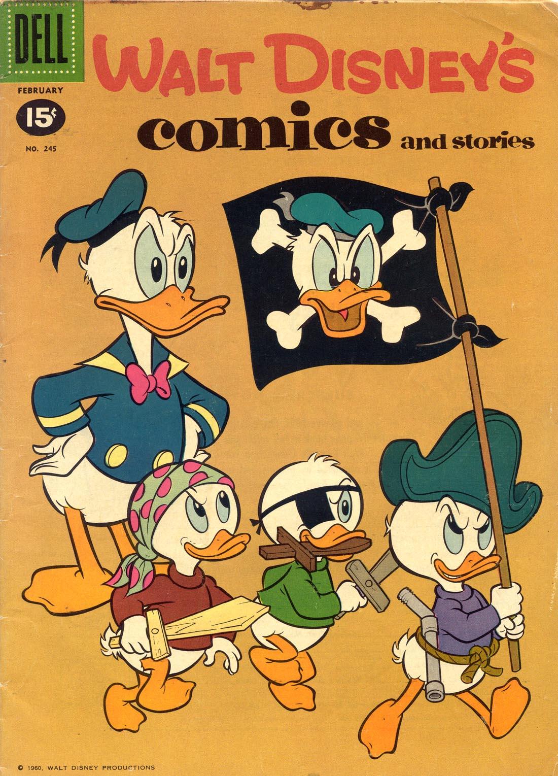 Walt Disneys Comics and Stories 245 Page 1