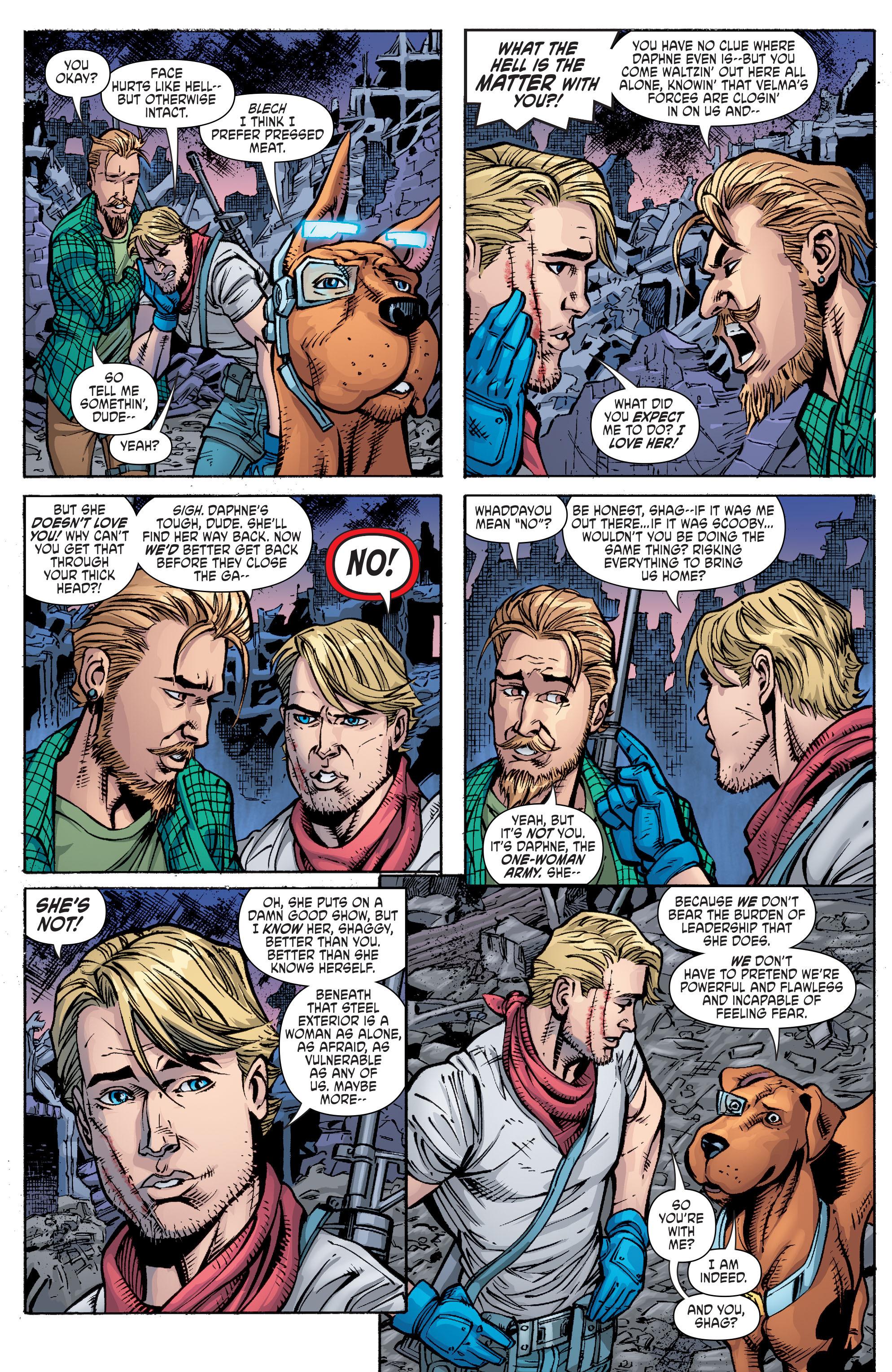 Read online Scooby Apocalypse comic -  Issue #10 - 15