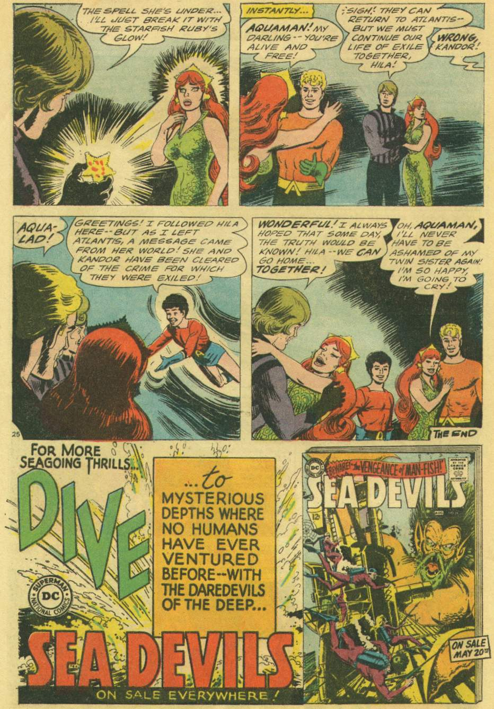 Read online Aquaman (1962) comic -  Issue #22 - 32