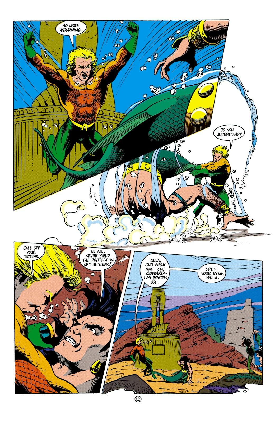 Aquaman (1991) Issue #4 #4 - English 13