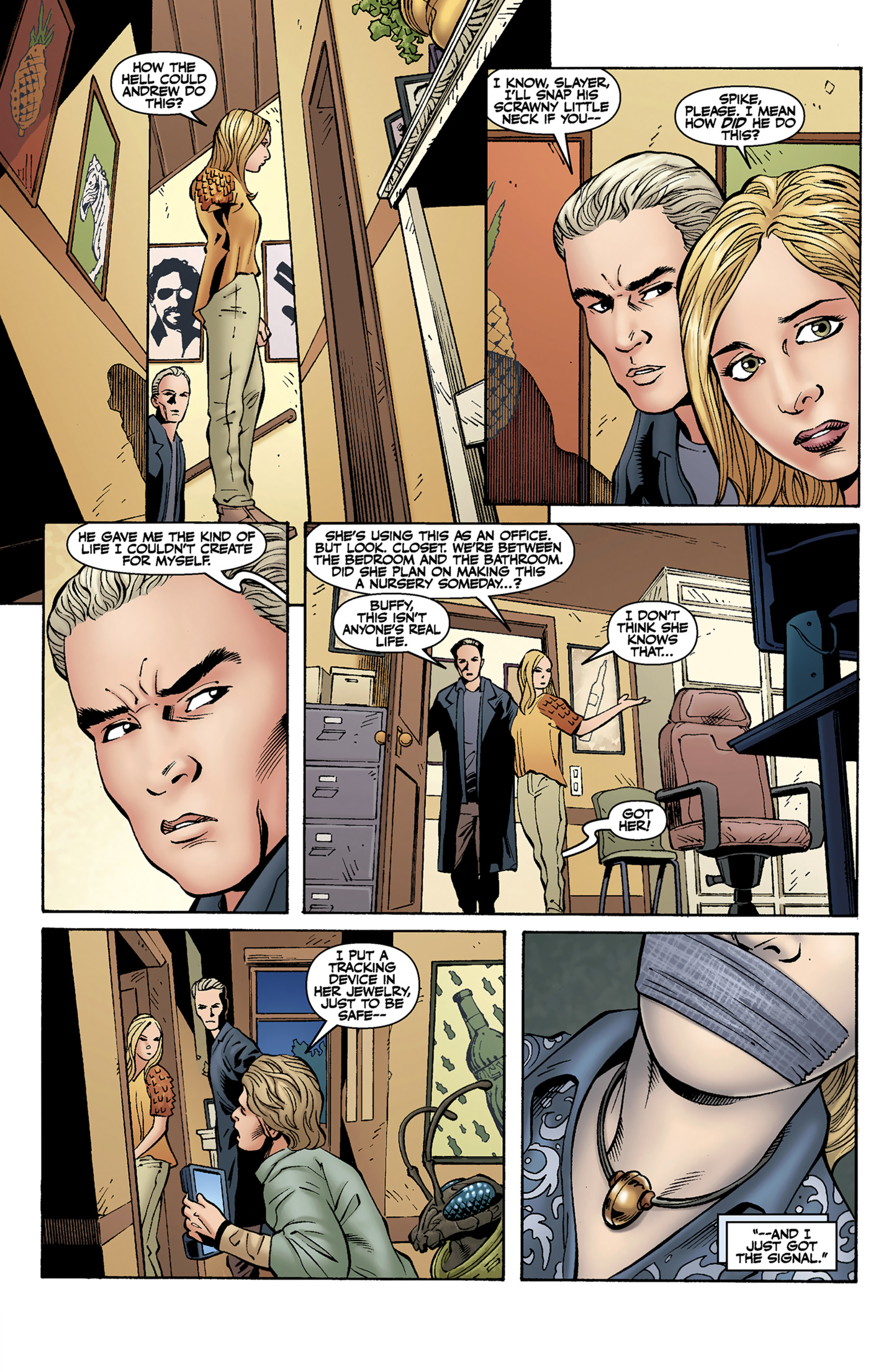 Read online Buffy the Vampire Slayer Season Nine comic -  Issue #9 - 6