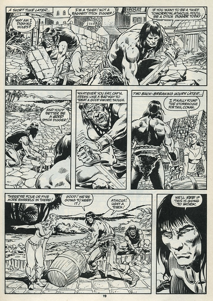 The Savage Sword Of Conan Issue #182 #183 - English 21