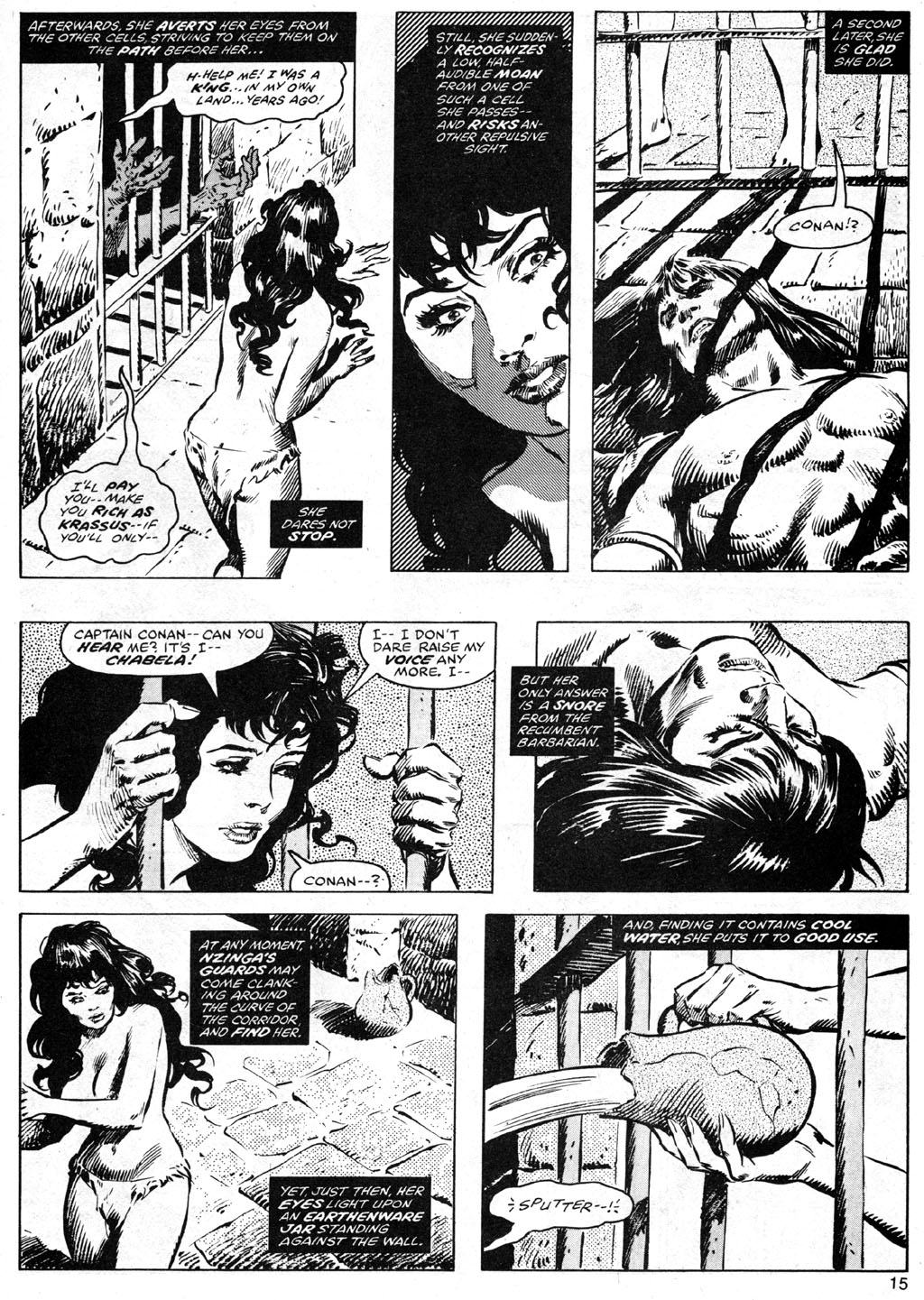 The Savage Sword Of Conan Issue #42 #43 - English 15