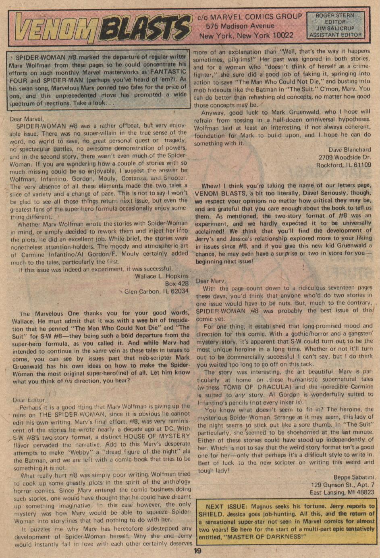 Spider-Woman (1978) #12 #39 - English 13