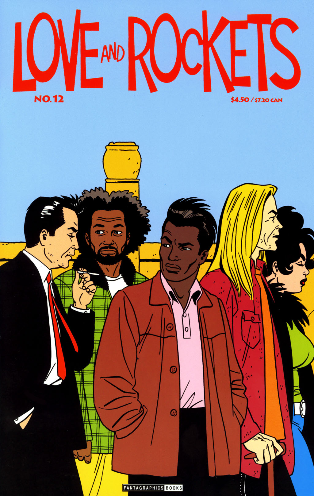 Read online Love and Rockets (2001) comic -  Issue #12 - 1