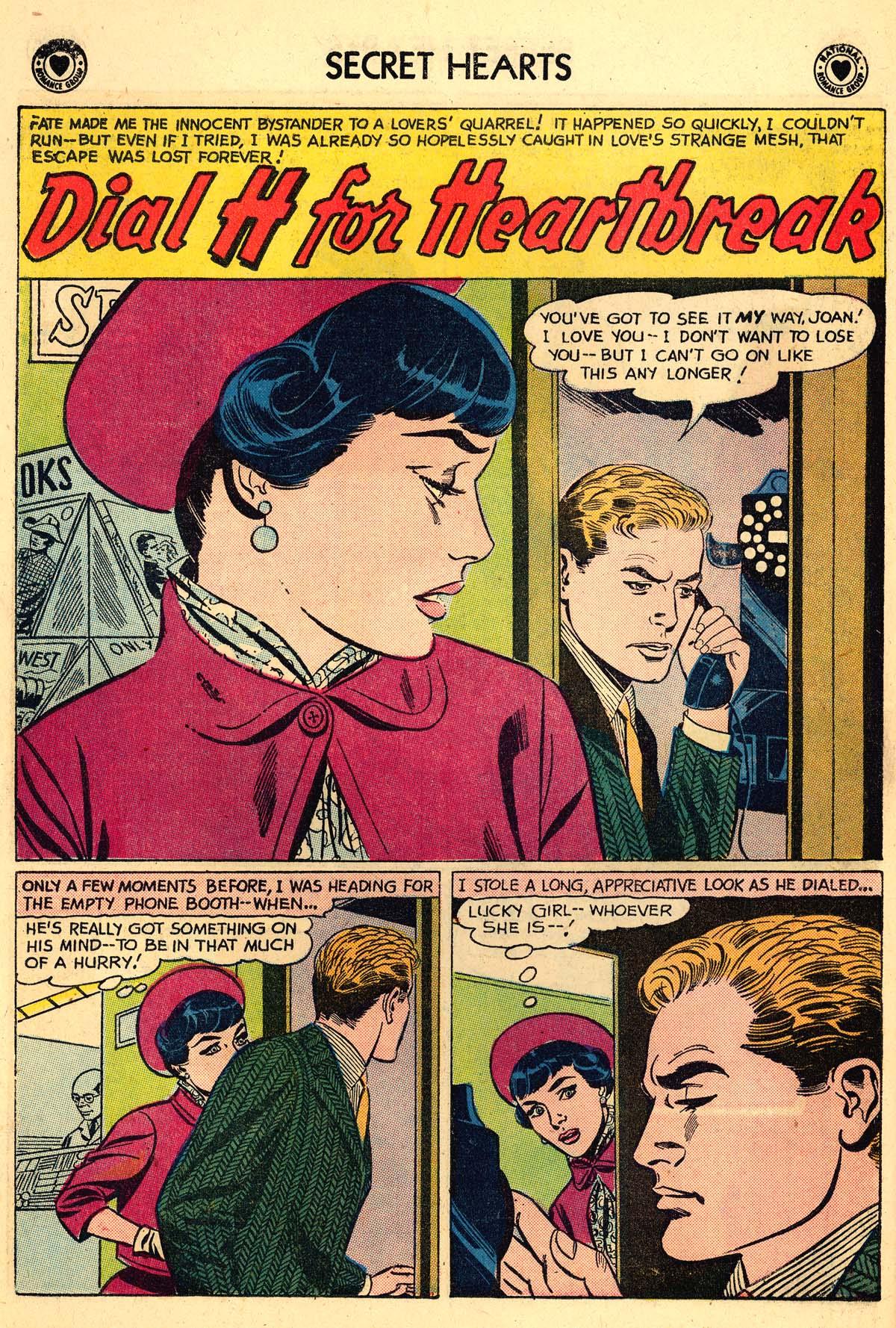 Read online Secret Hearts comic -  Issue #59 - 10