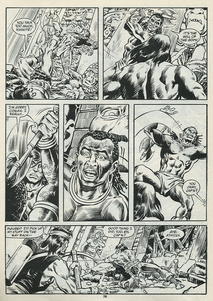 The Savage Sword Of Conan Issue #182 #183 - English 28