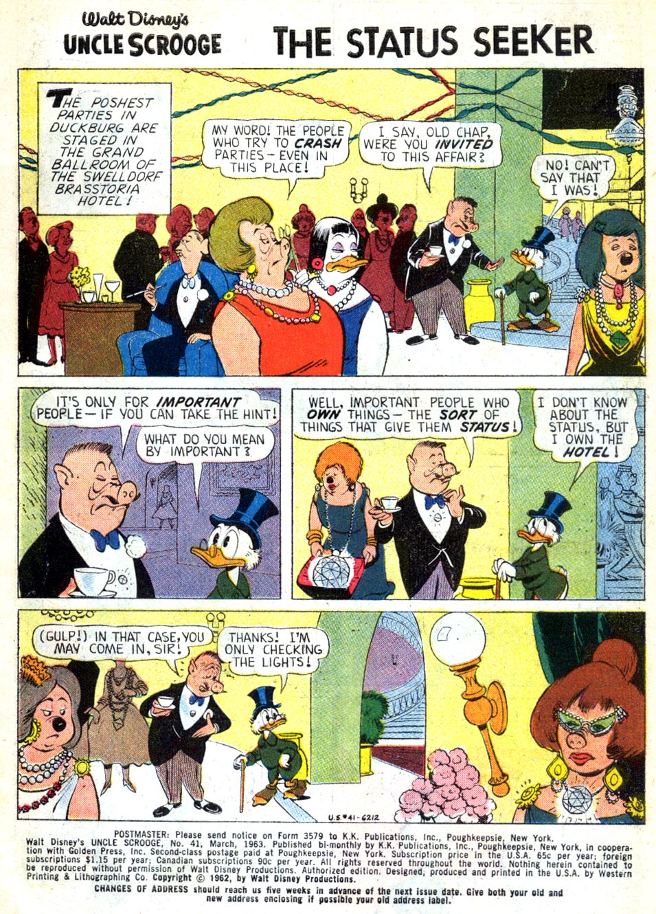 Uncle Scrooge (1953) Issue #41 #41 - English 3