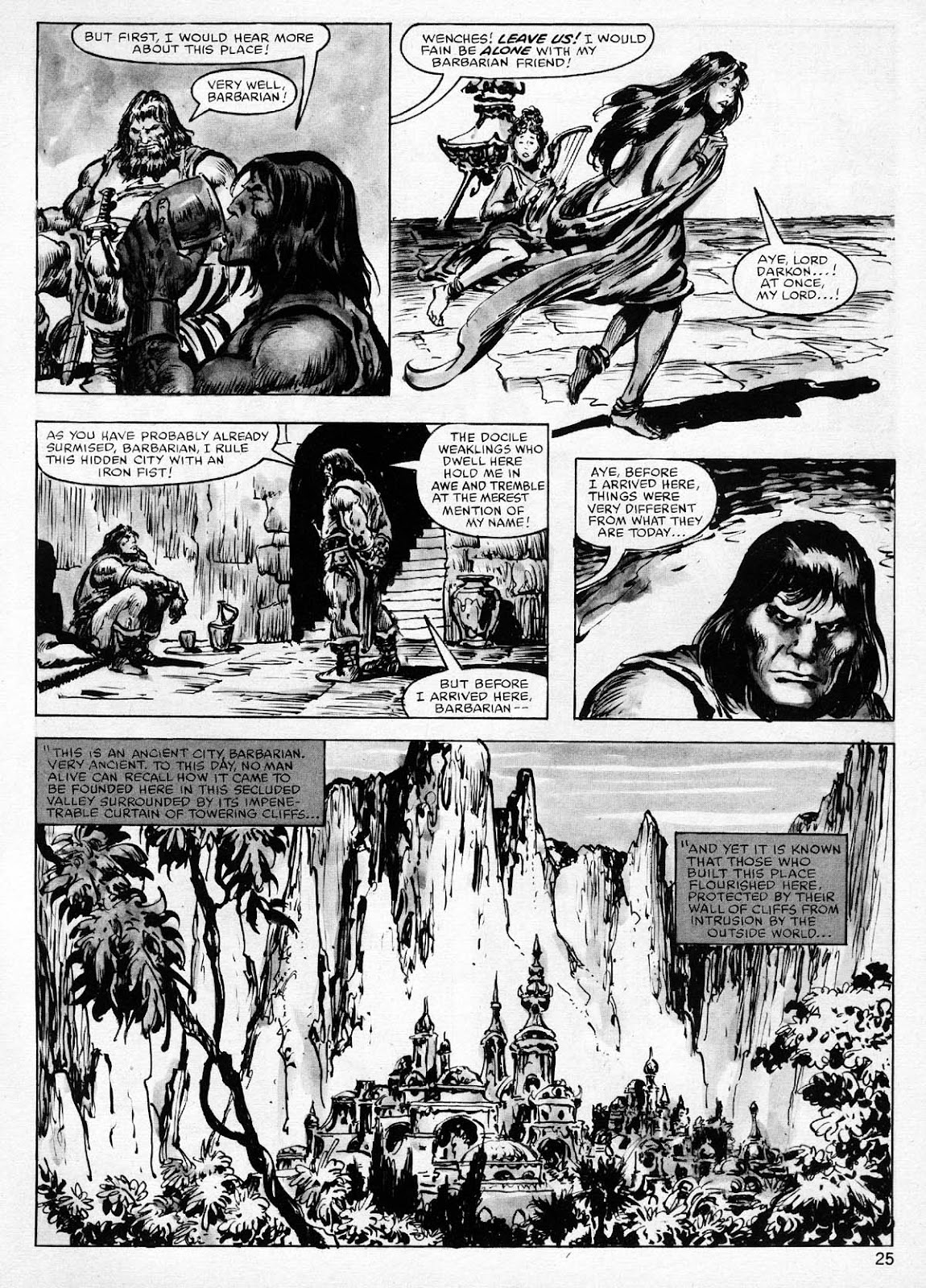 The Savage Sword Of Conan Issue #77 #78 - English 25