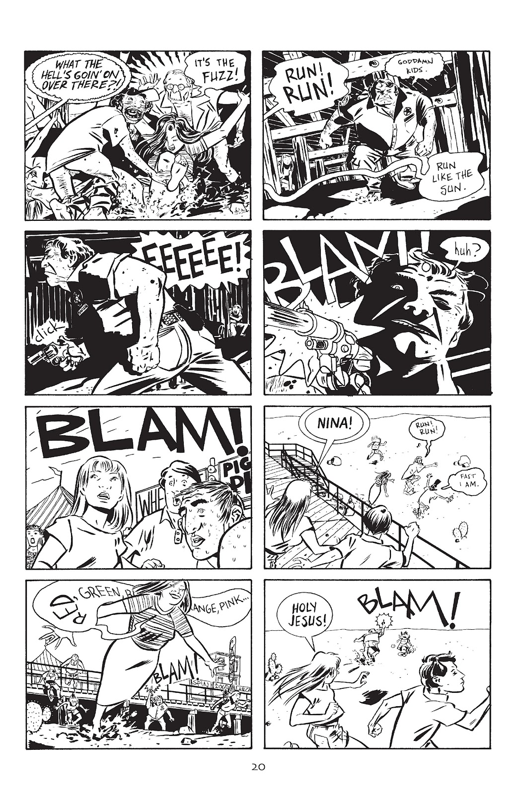 Stray Bullets Issue #12 #12 - English 22