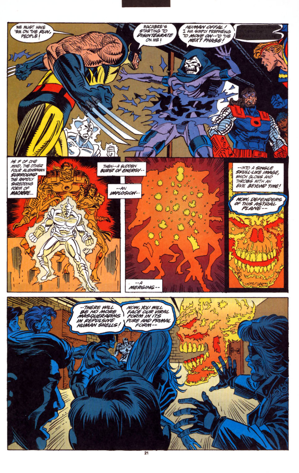 Read online Secret Defenders comic -  Issue #3 - 18