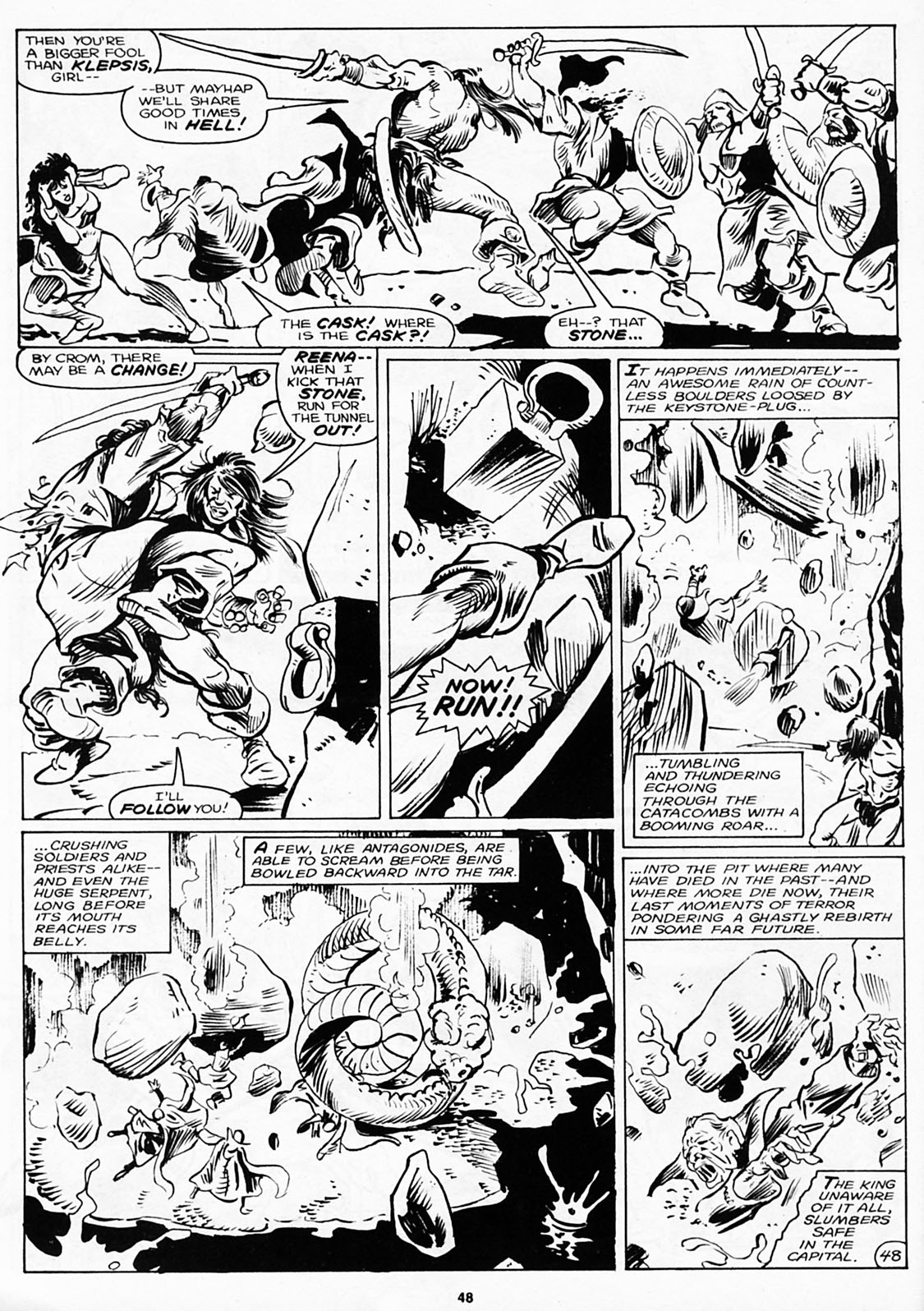 The Savage Sword Of Conan Issue #180 #181 - English 50