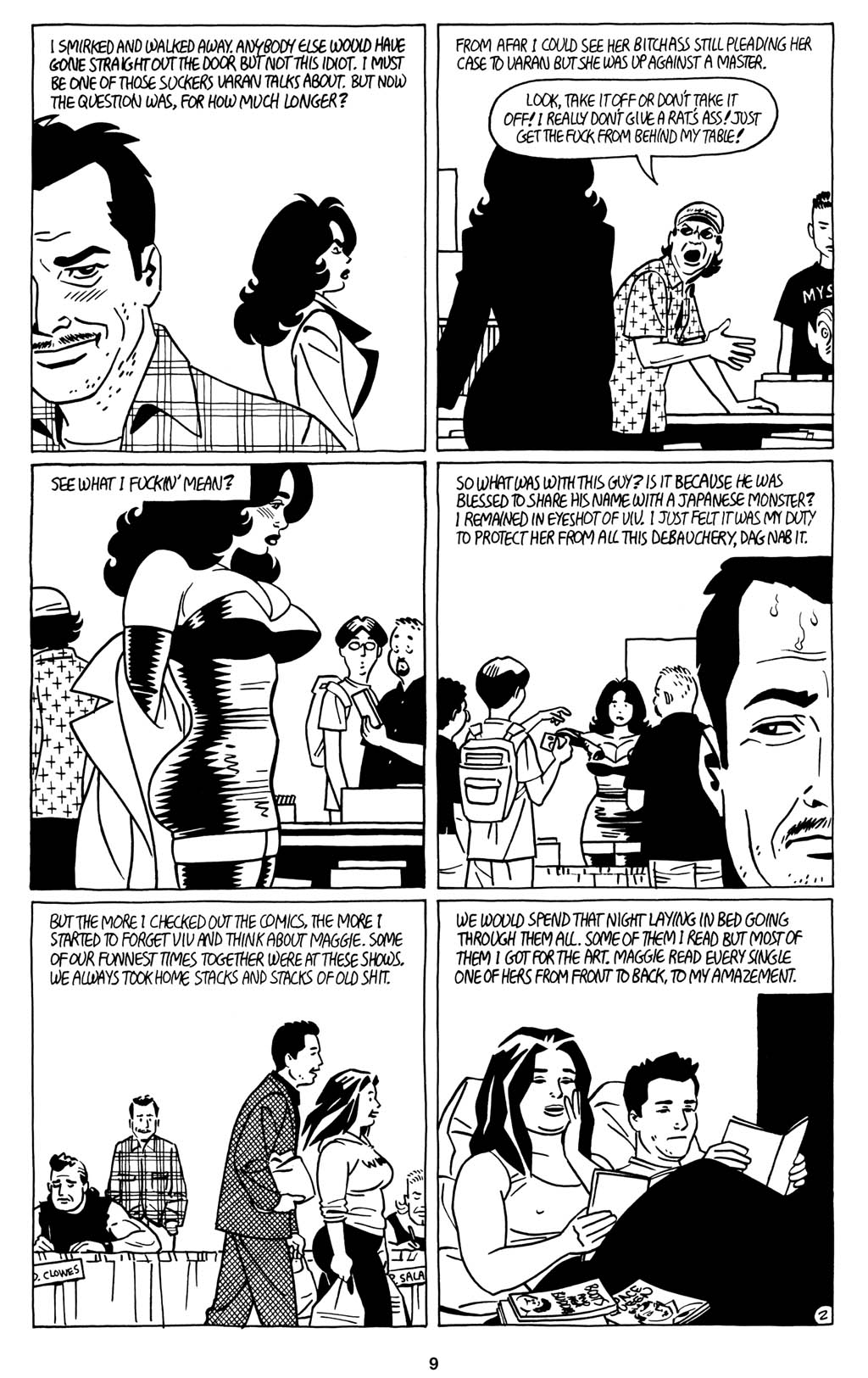 Read online Love and Rockets (2001) comic -  Issue #15 - 11