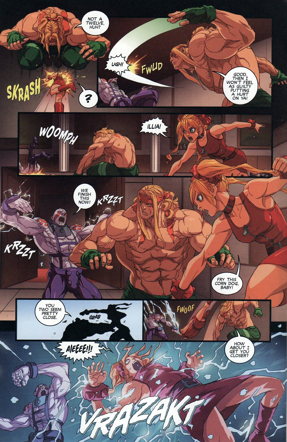 Street Fighter Unlimited Issue #9 #11 - English 8