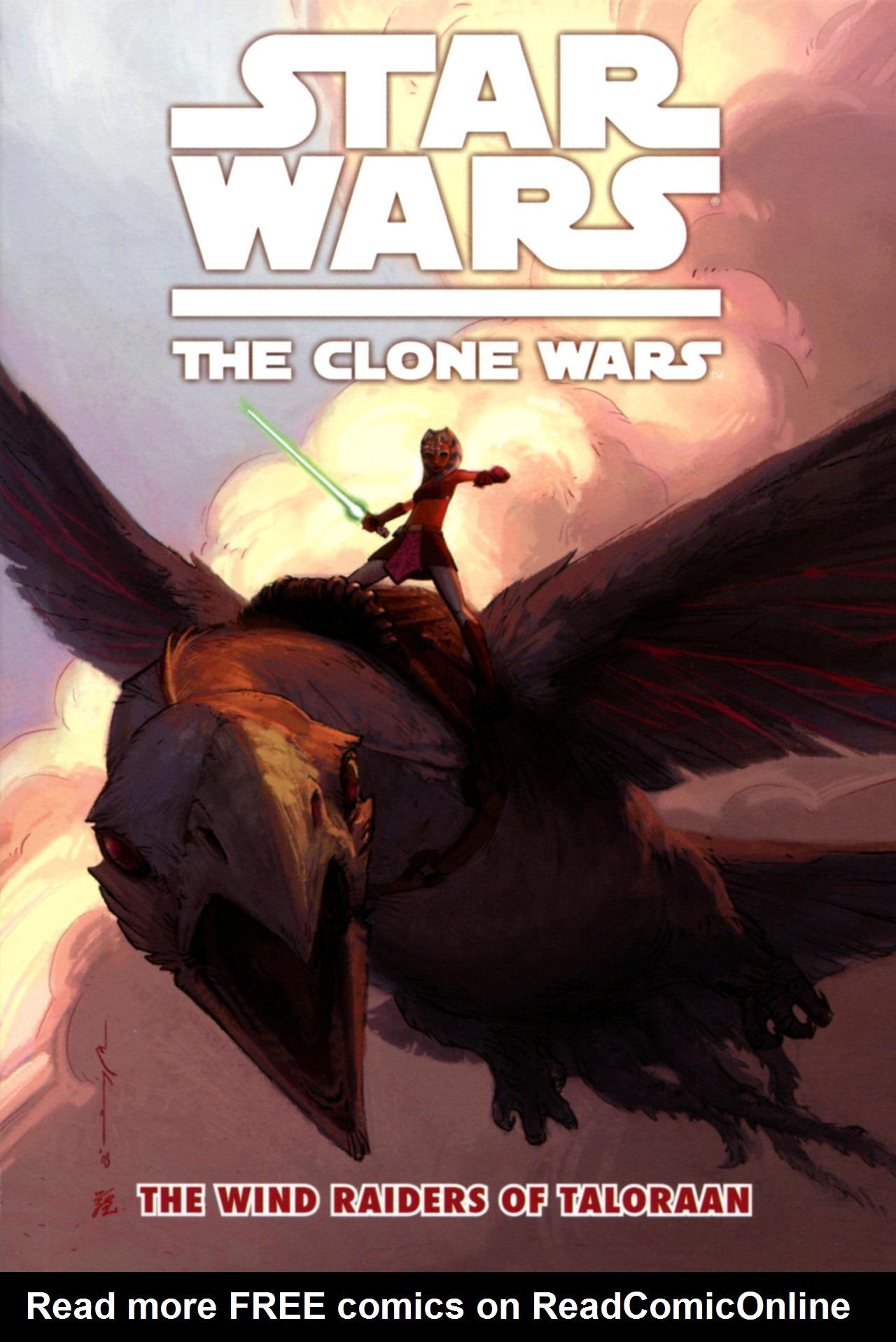 Star Wars: The Clone Wars - The Wind Raiders of Taloraan 1 Page 1