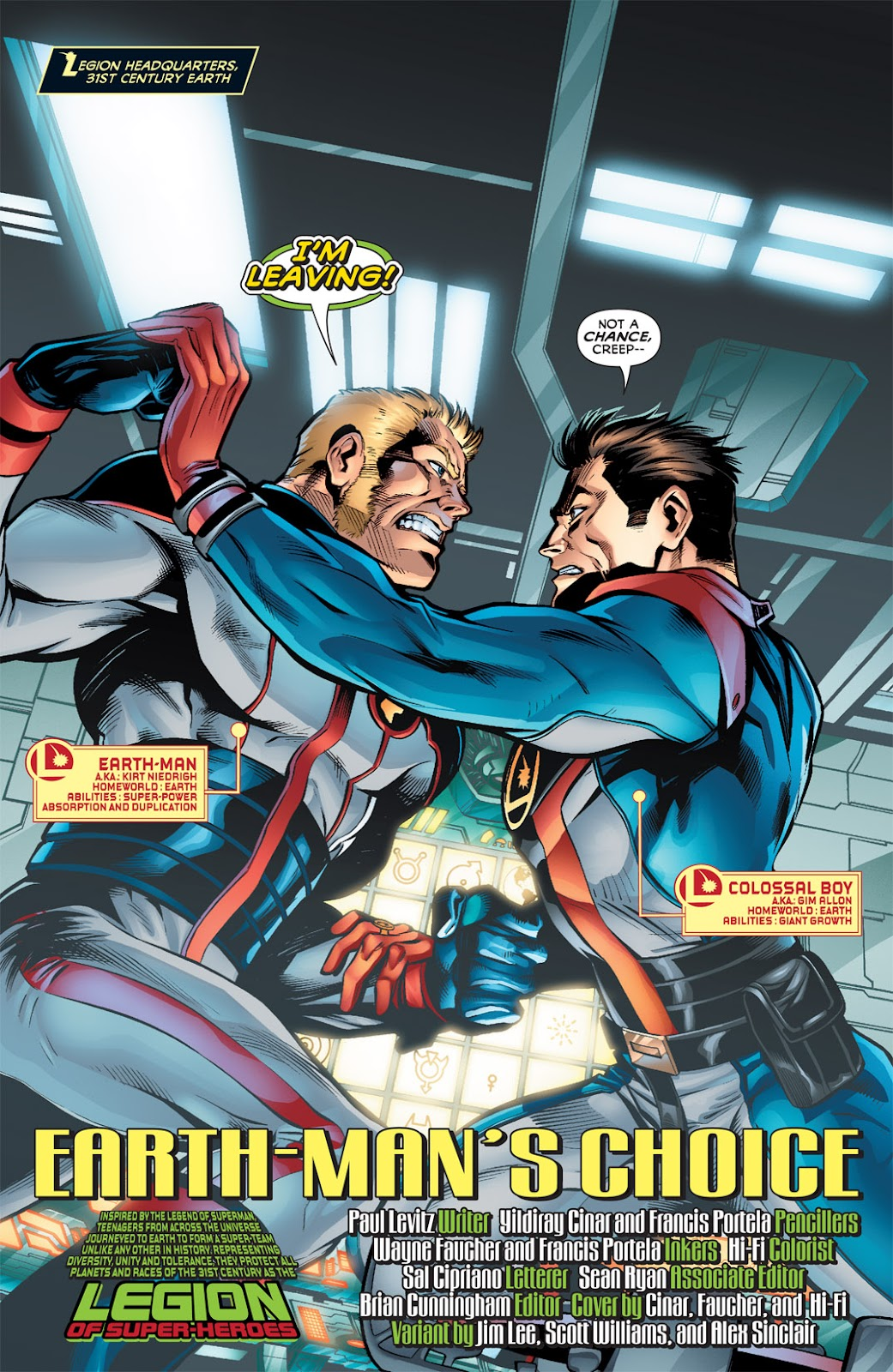 Legion of Super-Heroes (2010) Issue #3 #4 - English 3