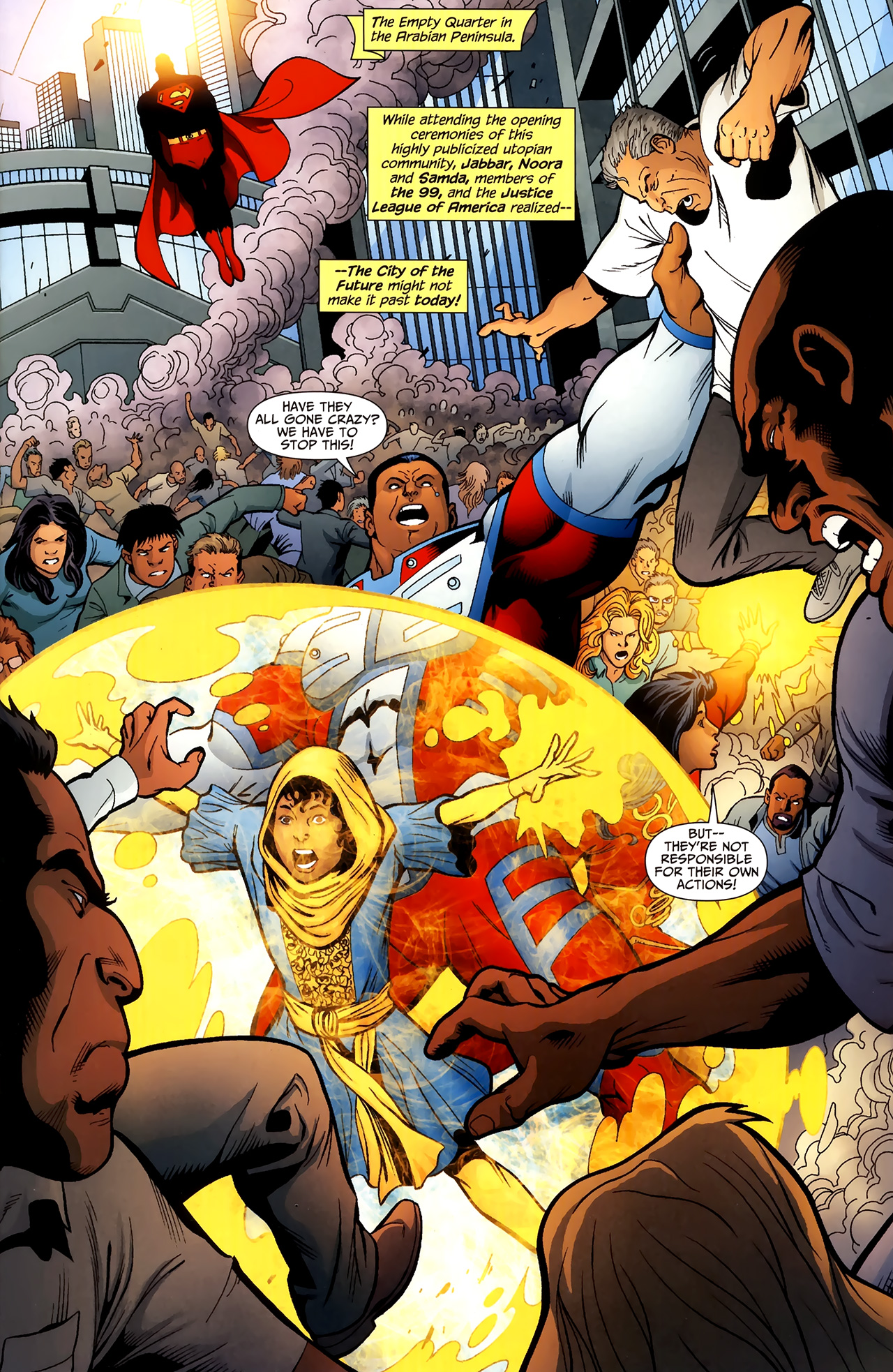 Read online Justice League of America/The 99 comic -  Issue #2 - 2