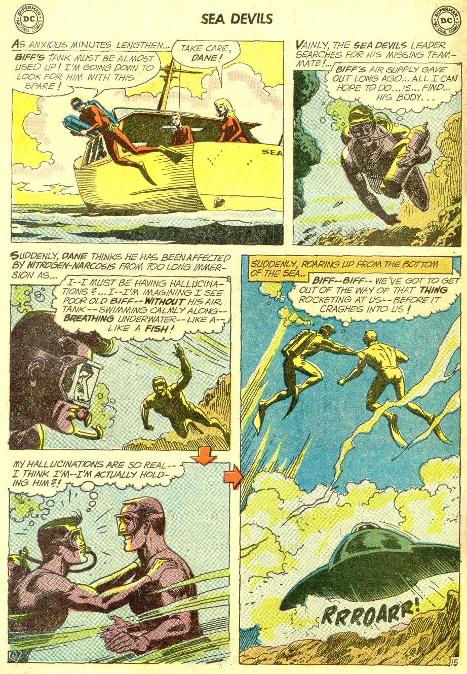 Read online Sea Devils comic -  Issue #10 - 23