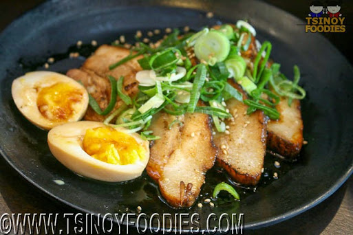 seared premium pork chashu