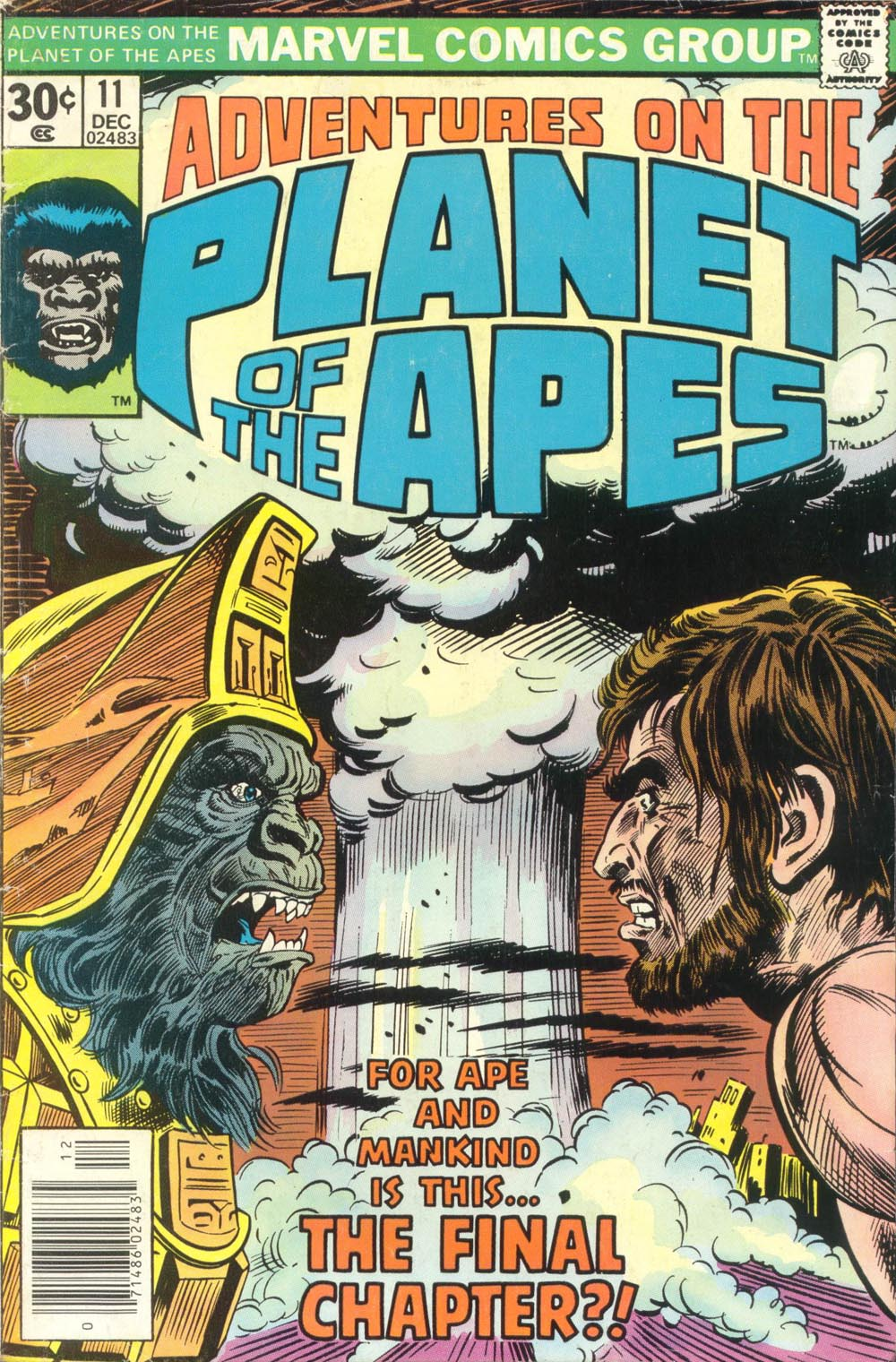 Adventures on the Planet of the Apes 11 Page 1