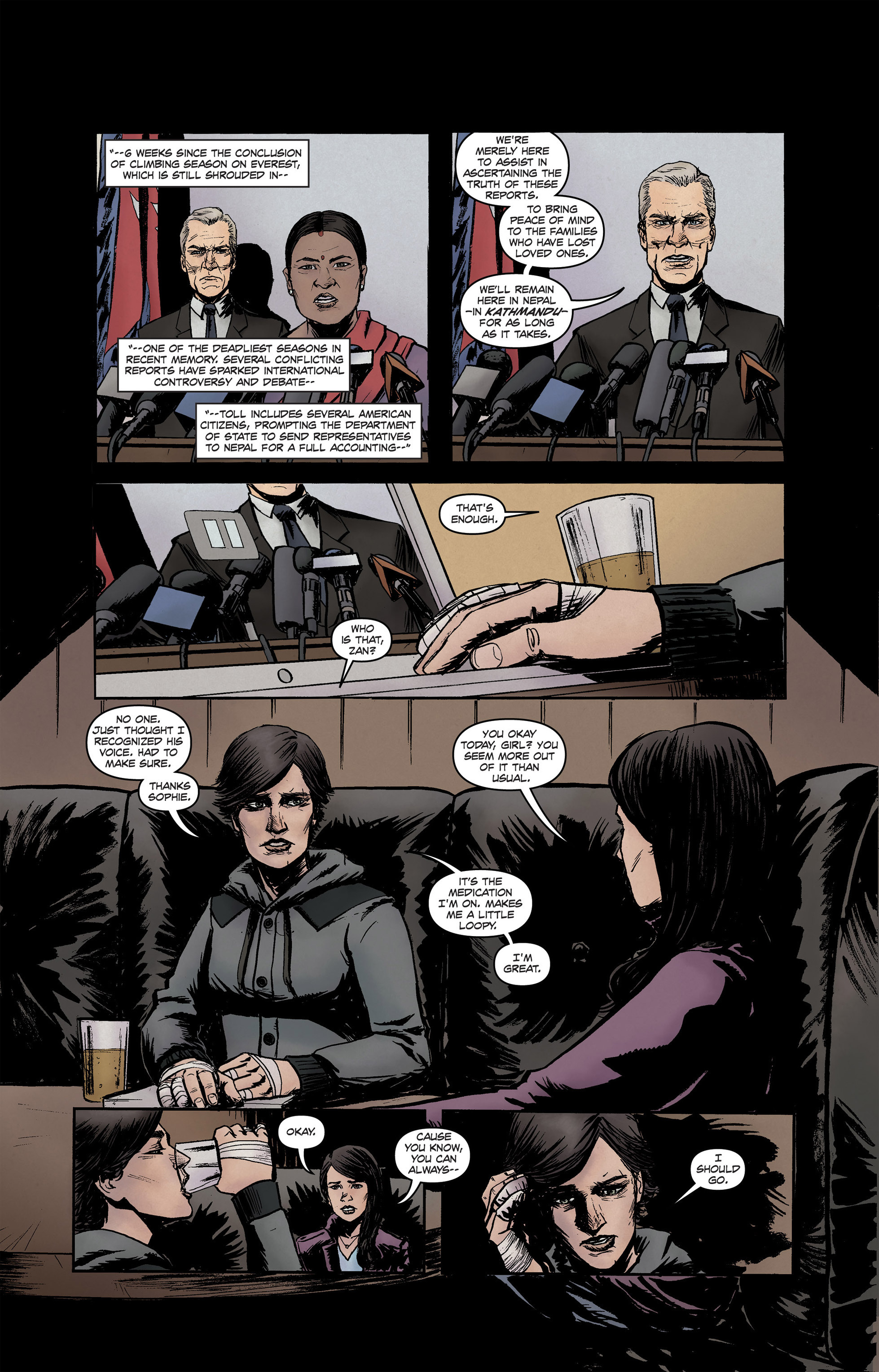 Read online High Crimes comic -  Issue #12 - 13