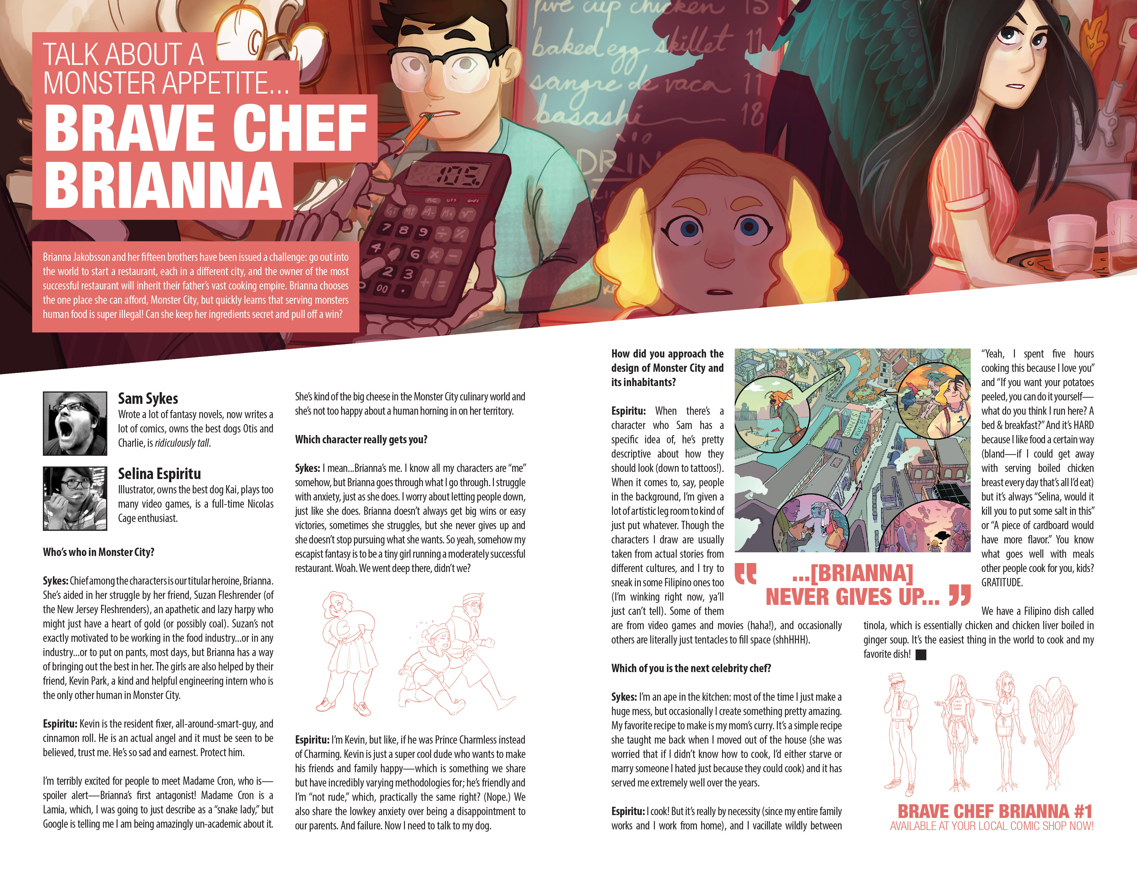 Read online Brave Chef Brianna comic -  Issue #2 - 28