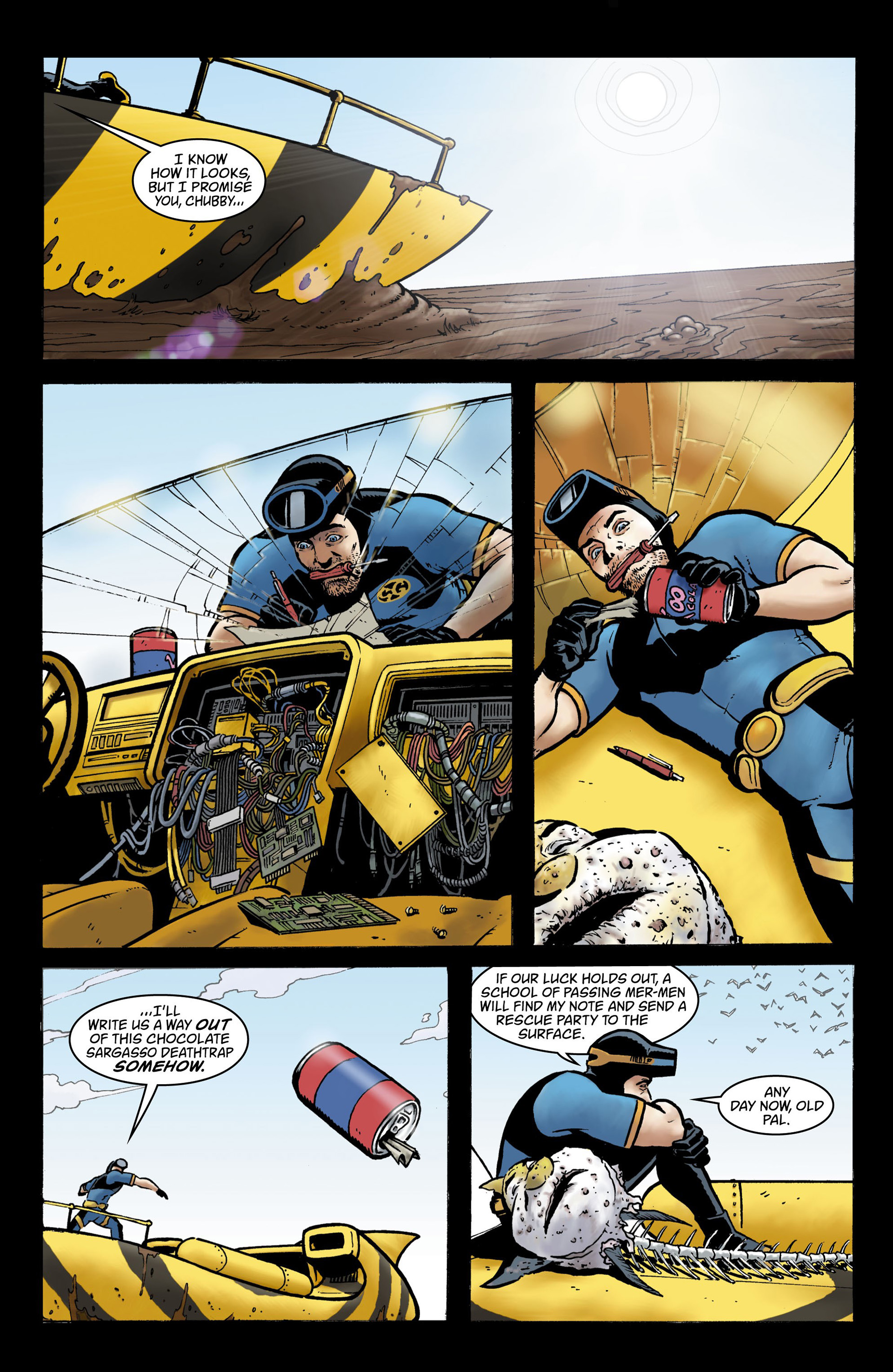 Read online Seaguy comic -  Issue #3 - 2