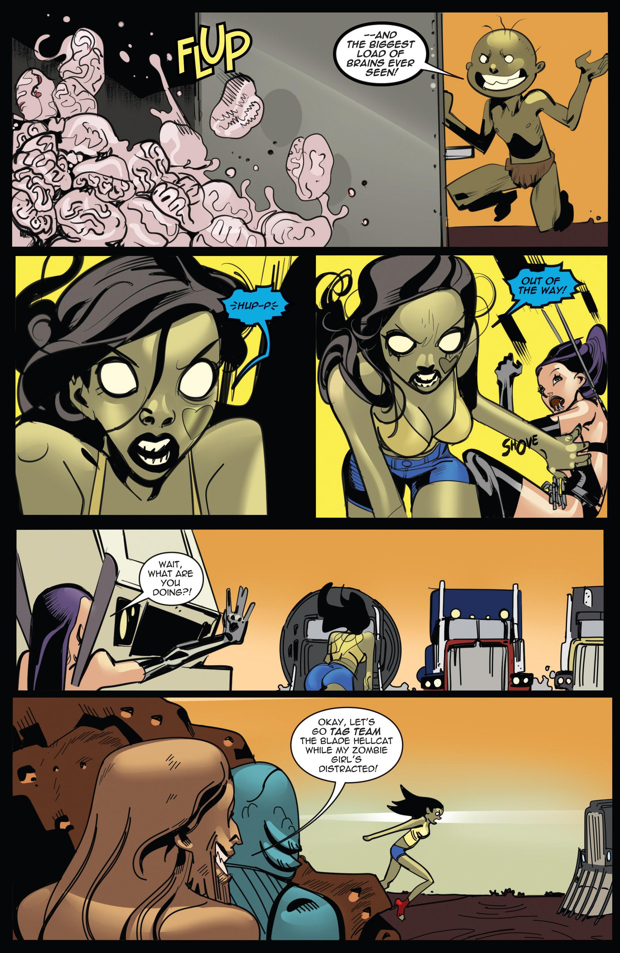 порно комикс про зомби № 50266 загрузить