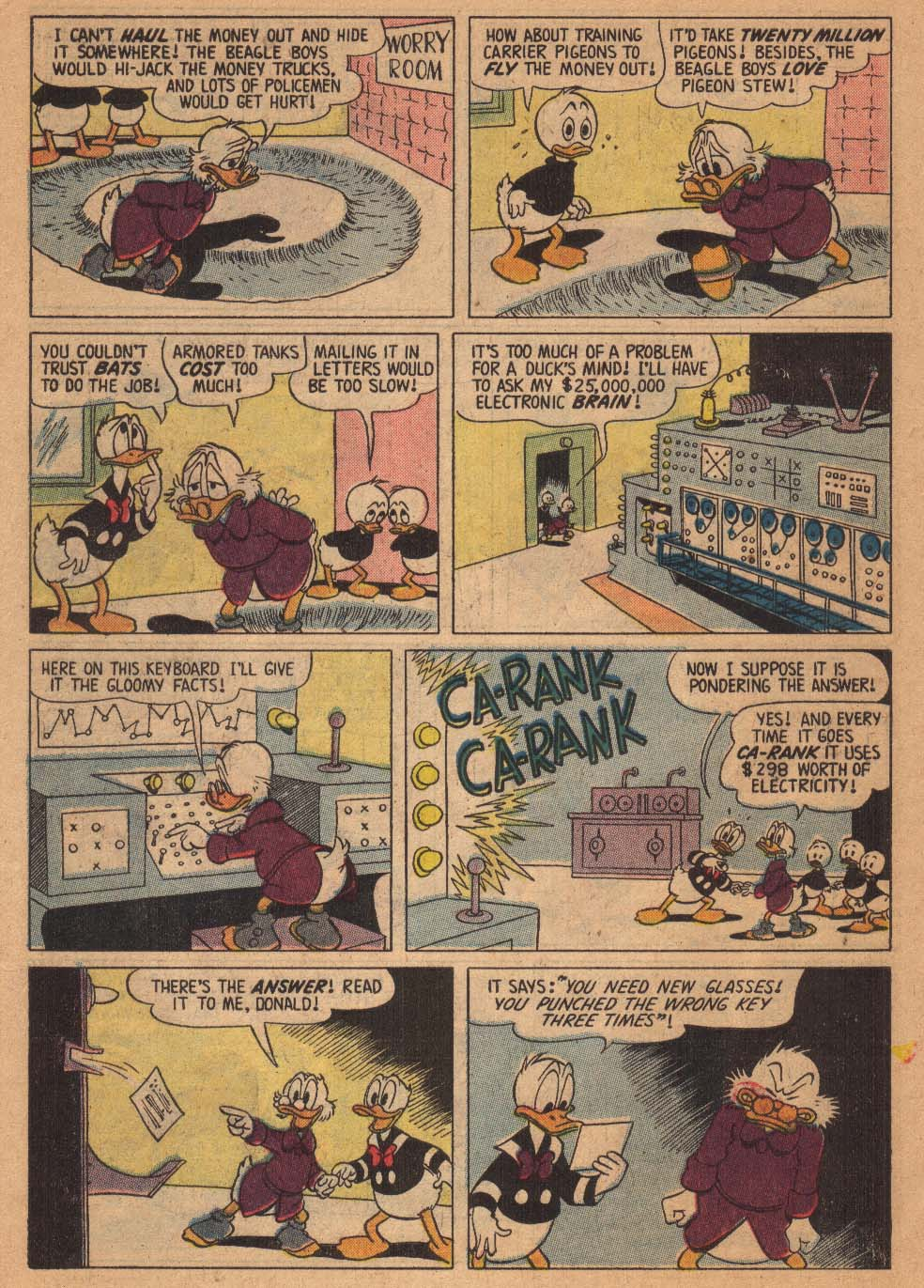 Uncle Scrooge (1953) #21 #384 - English 6