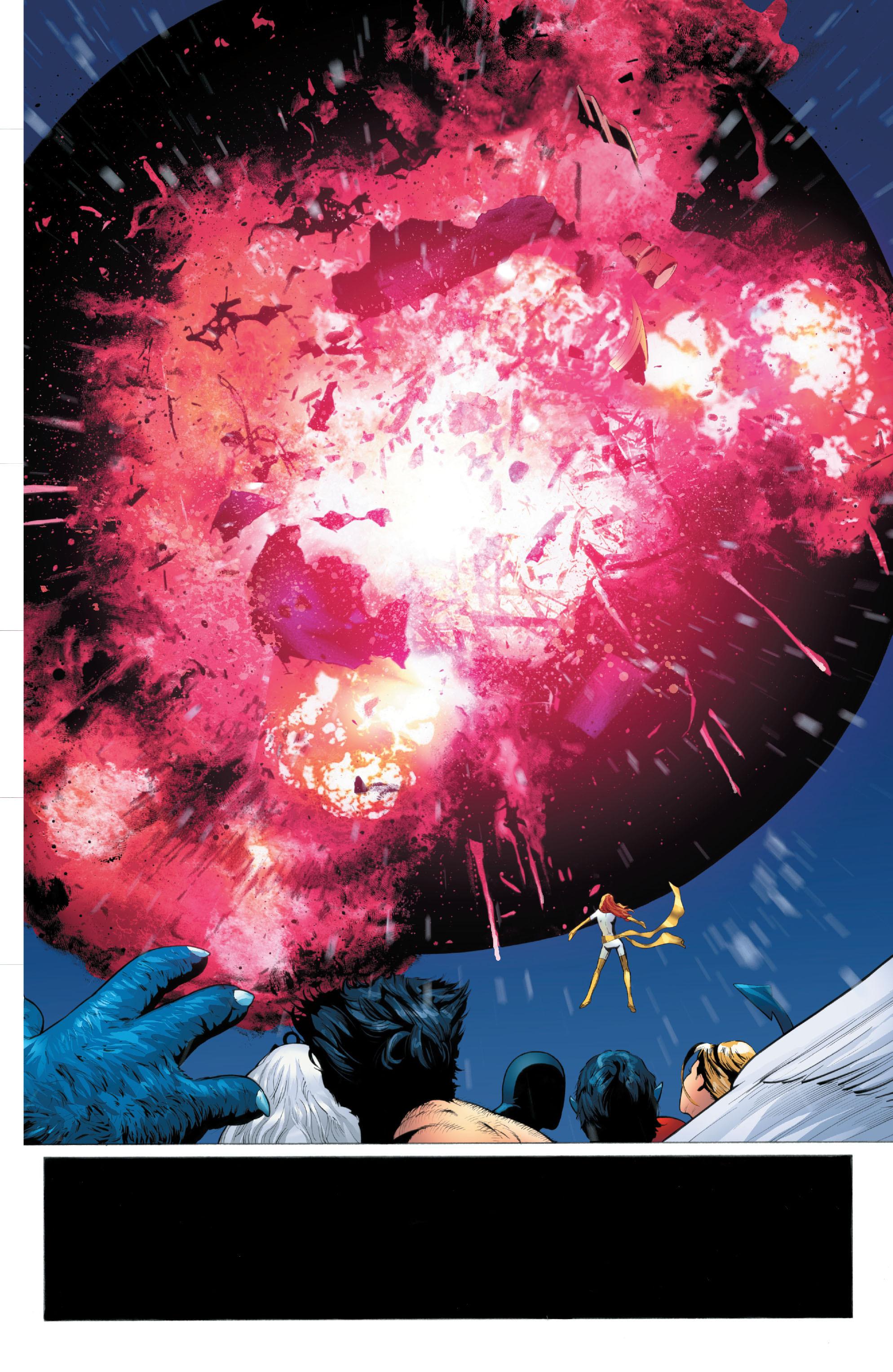 Read online X-Men: Phoenix - Endsong comic -  Issue #5 - 20