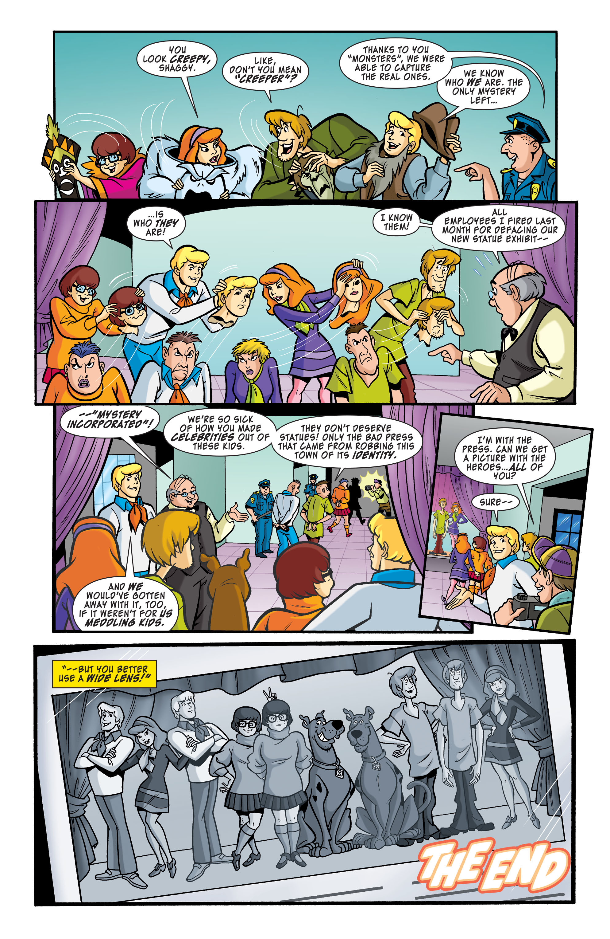 Read online Scooby-Doo: Where Are You? comic -  Issue #64 - 11