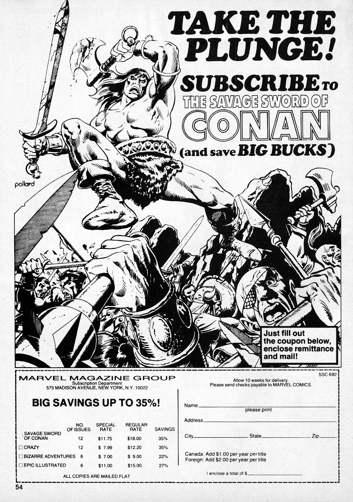 The Savage Sword Of Conan Issue #77 #78 - English 51