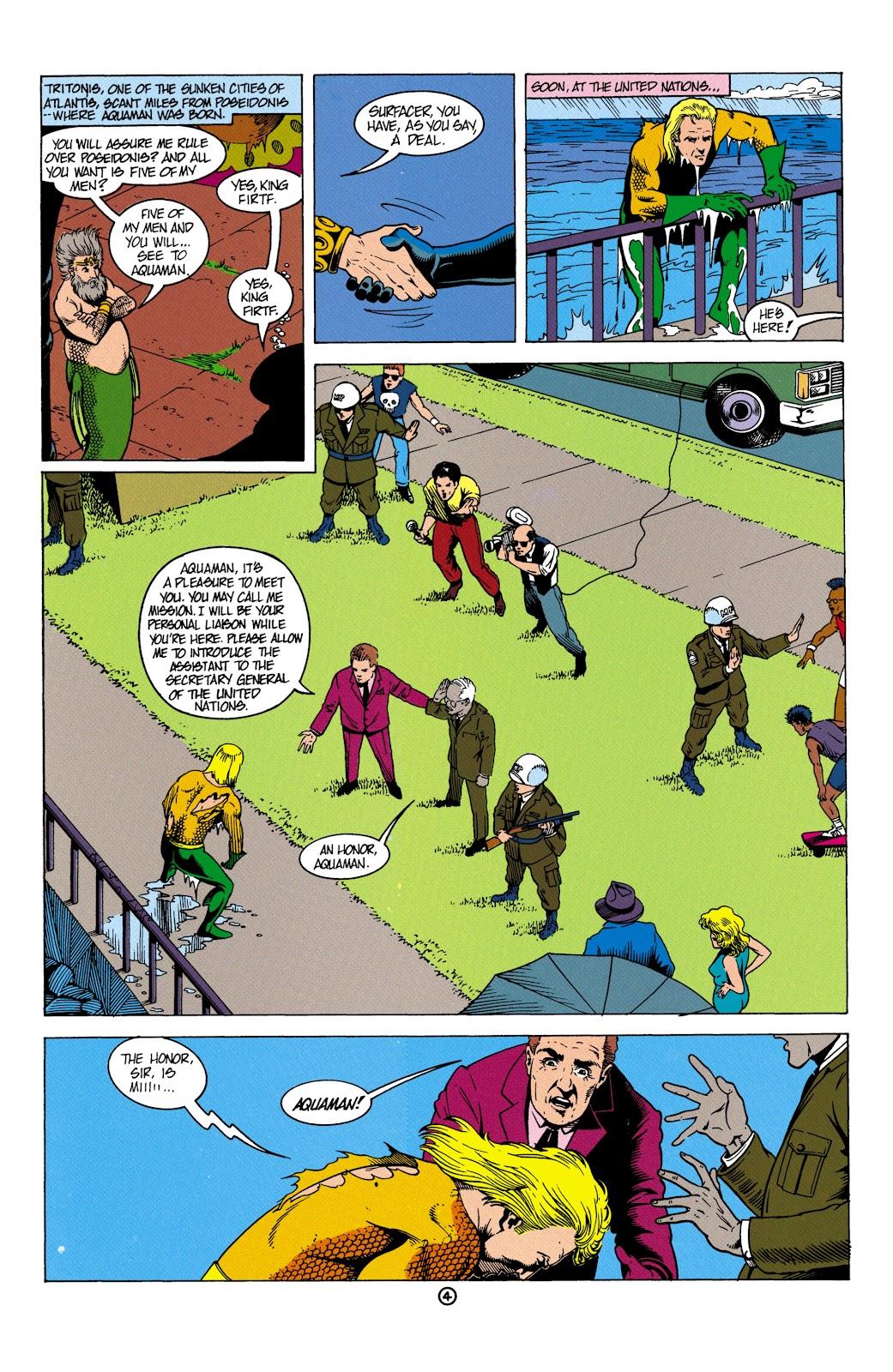 Aquaman (1991) Issue #5 #5 - English 5