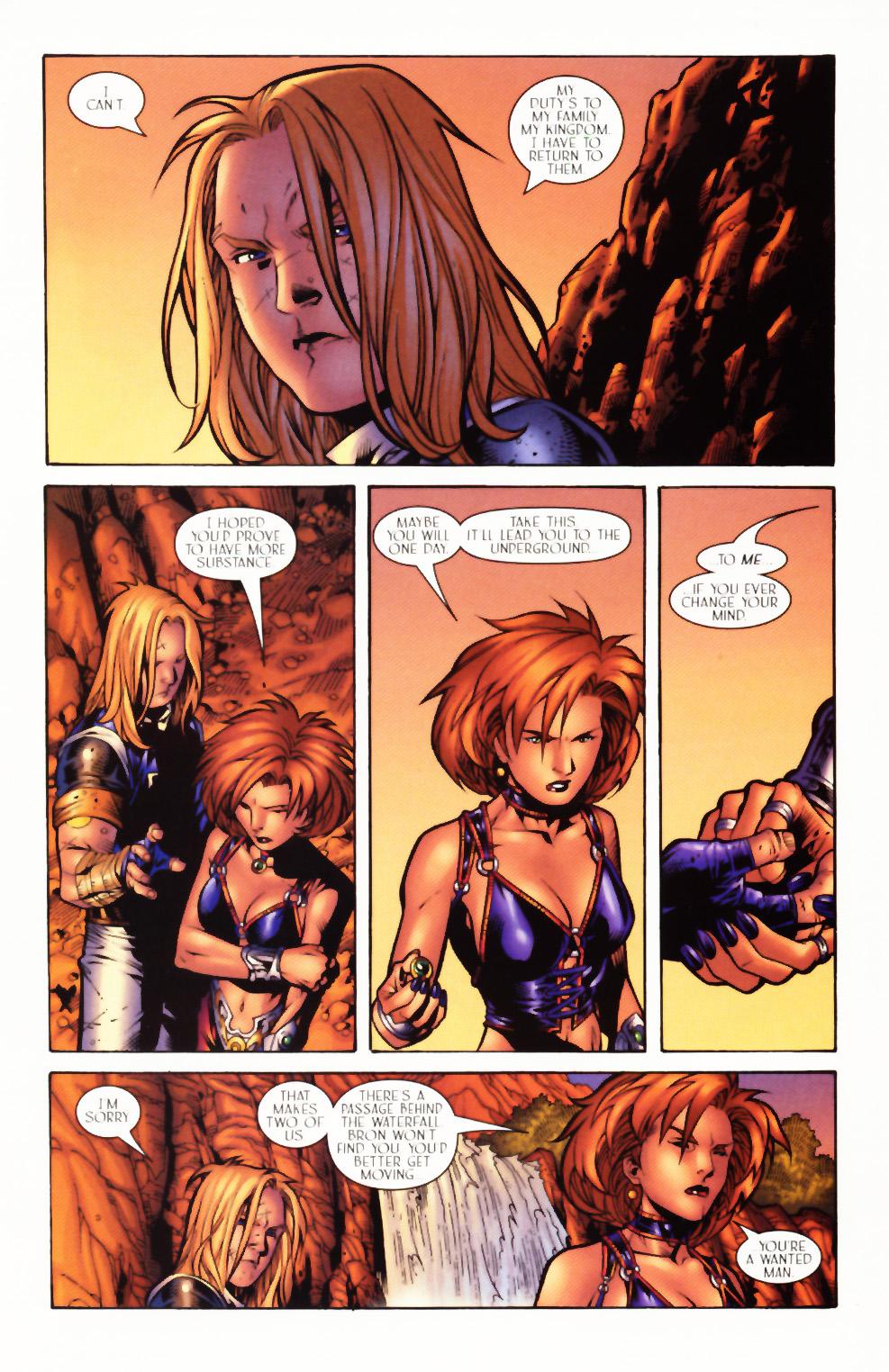 Read online Scion comic -  Issue #3 - 22