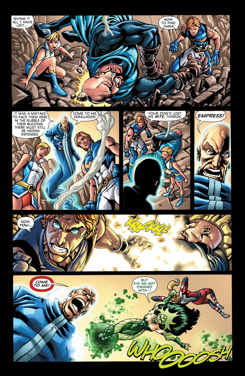 Legion of Super-Heroes (2011) Issue #22 #23 - English 7