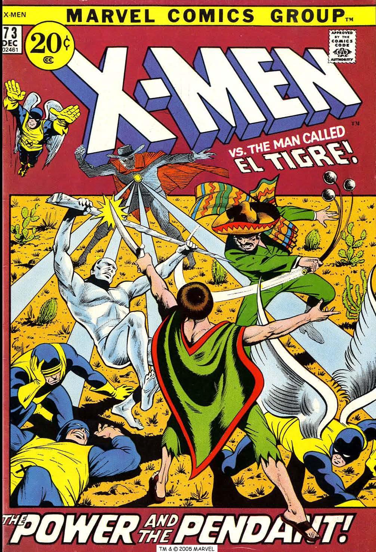 Uncanny X-Men (1963) 73 Page 1