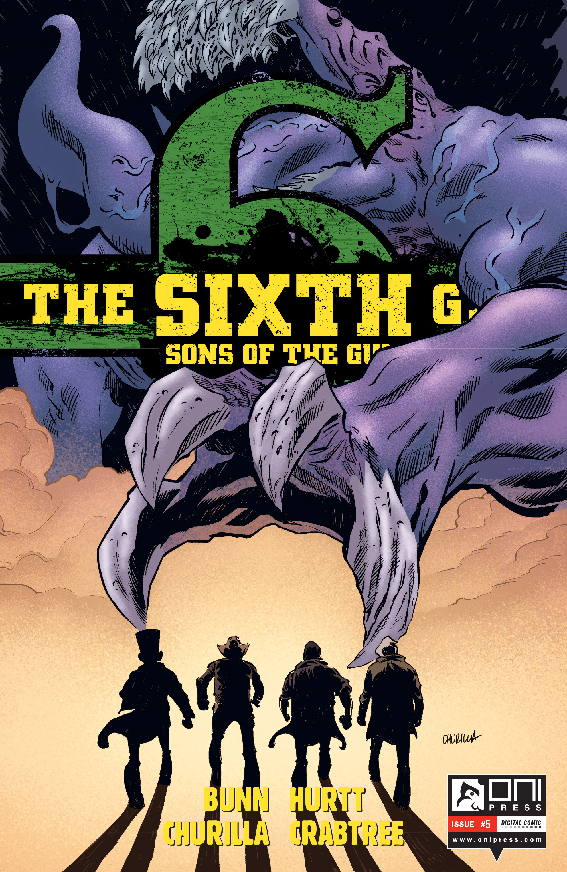 The Sixth Gun: Sons of the Gun issue 5 - Page 1