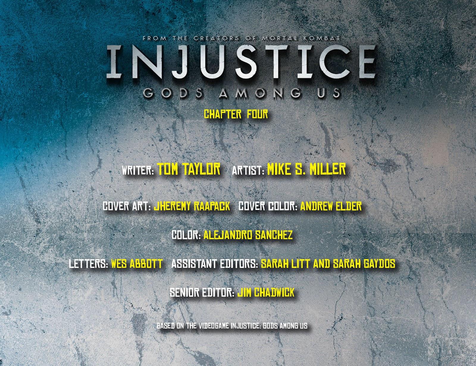 Injustice: Gods Among Us [I] Issue #4 #5 - English 2
