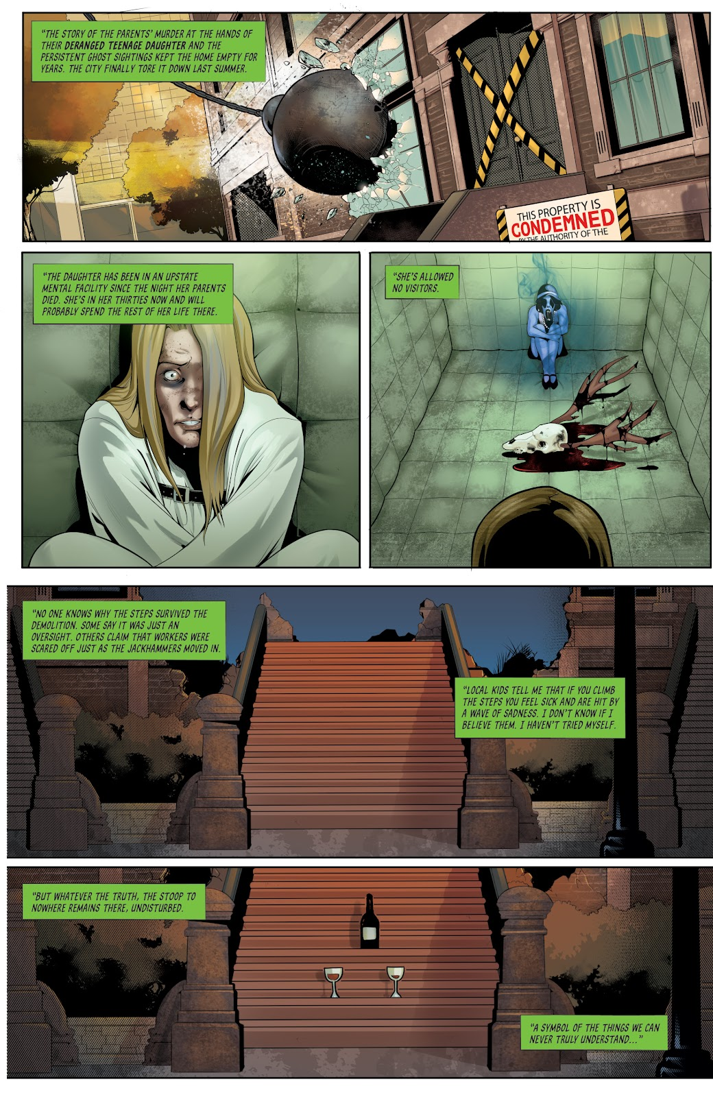 Grimm Fairy Tales (2005) _Special - Halloween Special #2 - English 11