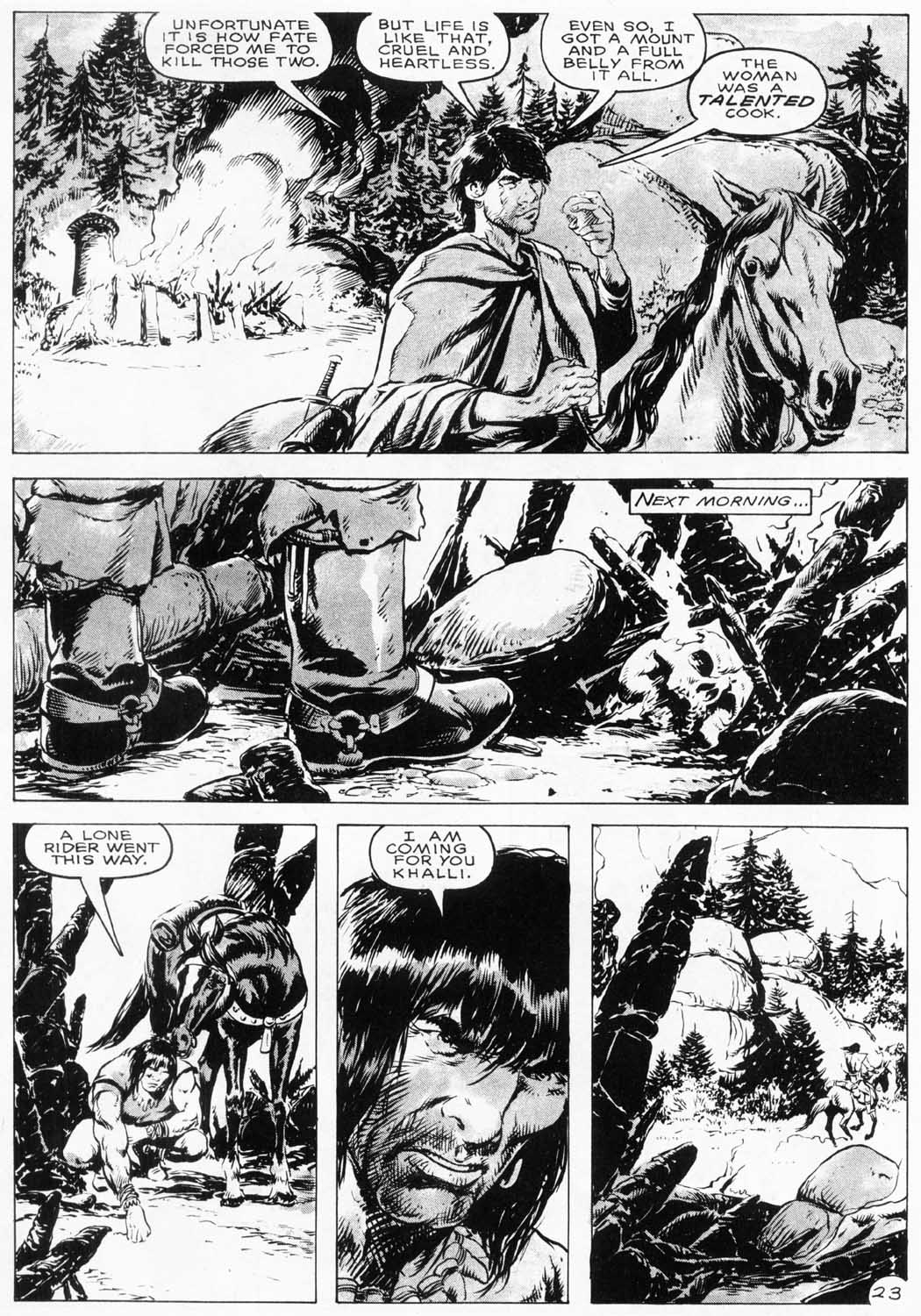 The Savage Sword Of Conan Issue #154 #155 - English 26