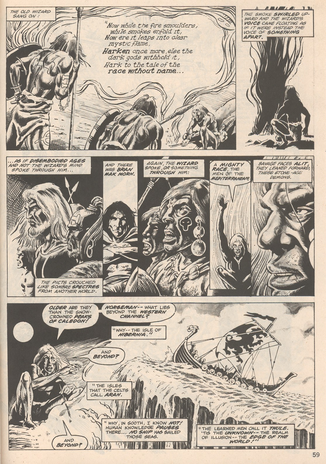 The Savage Sword Of Conan Issue #104 #105 - English 59