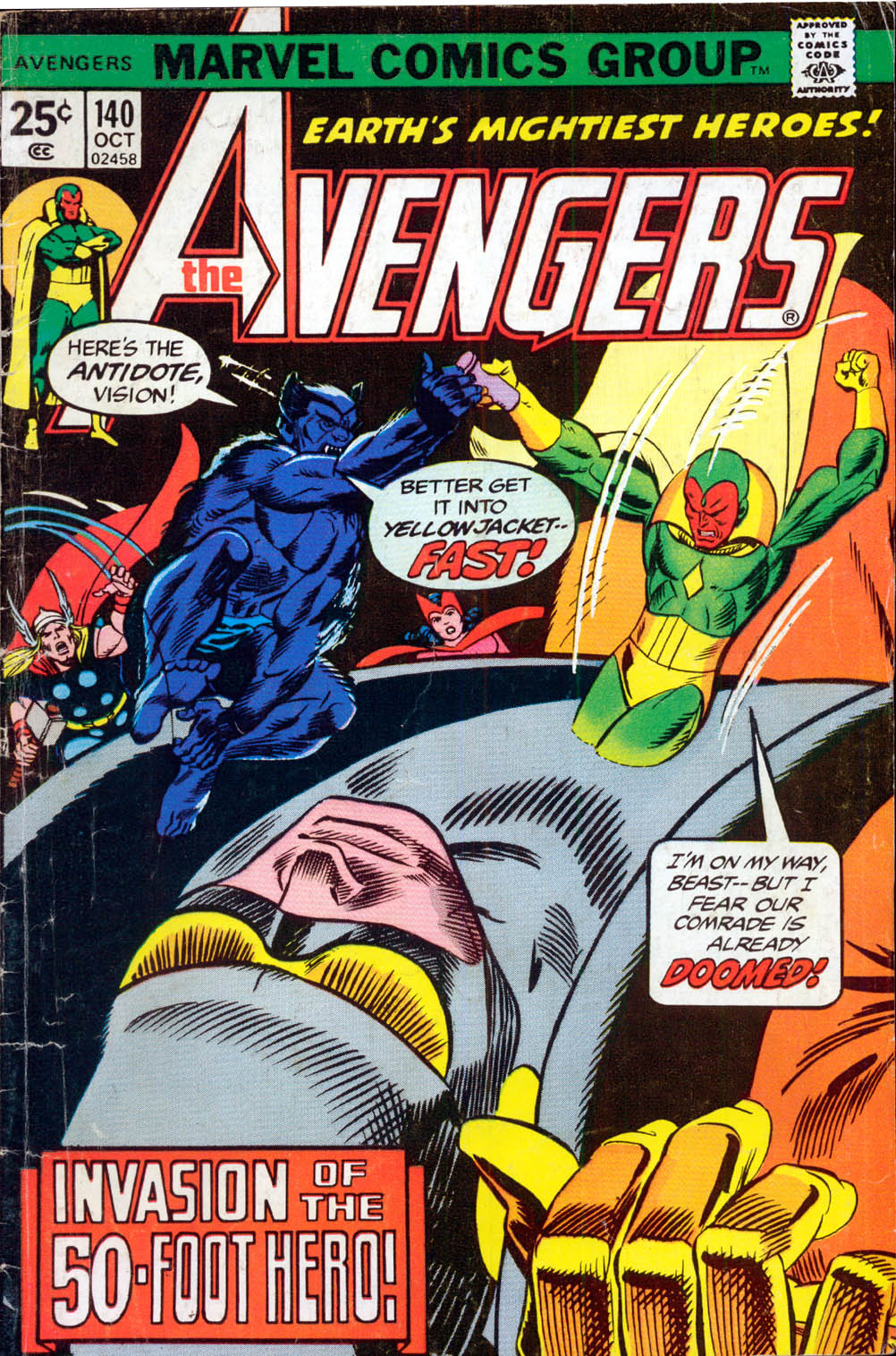 The Avengers (1963) 140 Page 1