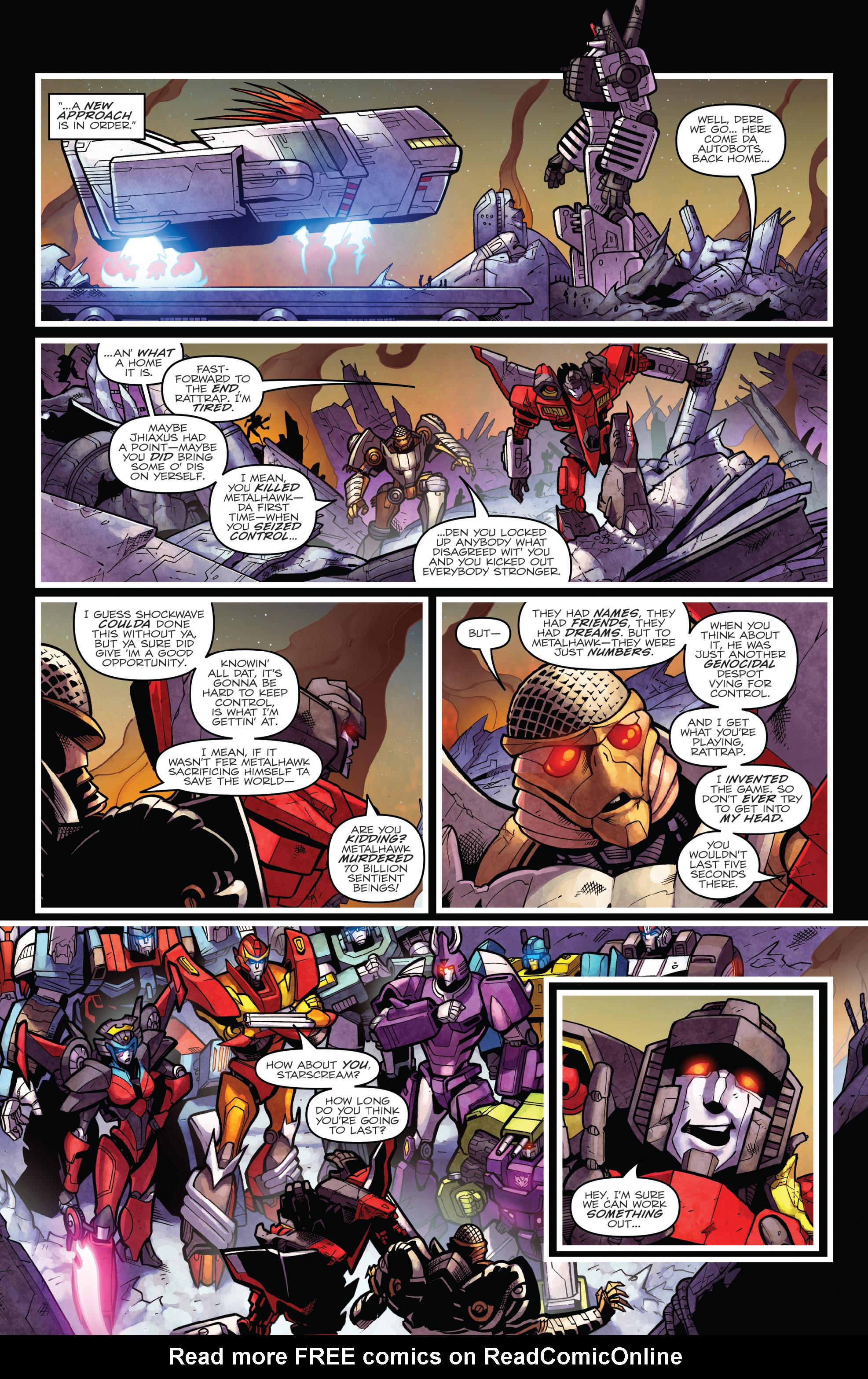 Read online The Transformers: Dark Cybertron Finale comic -  Issue # Full - 145