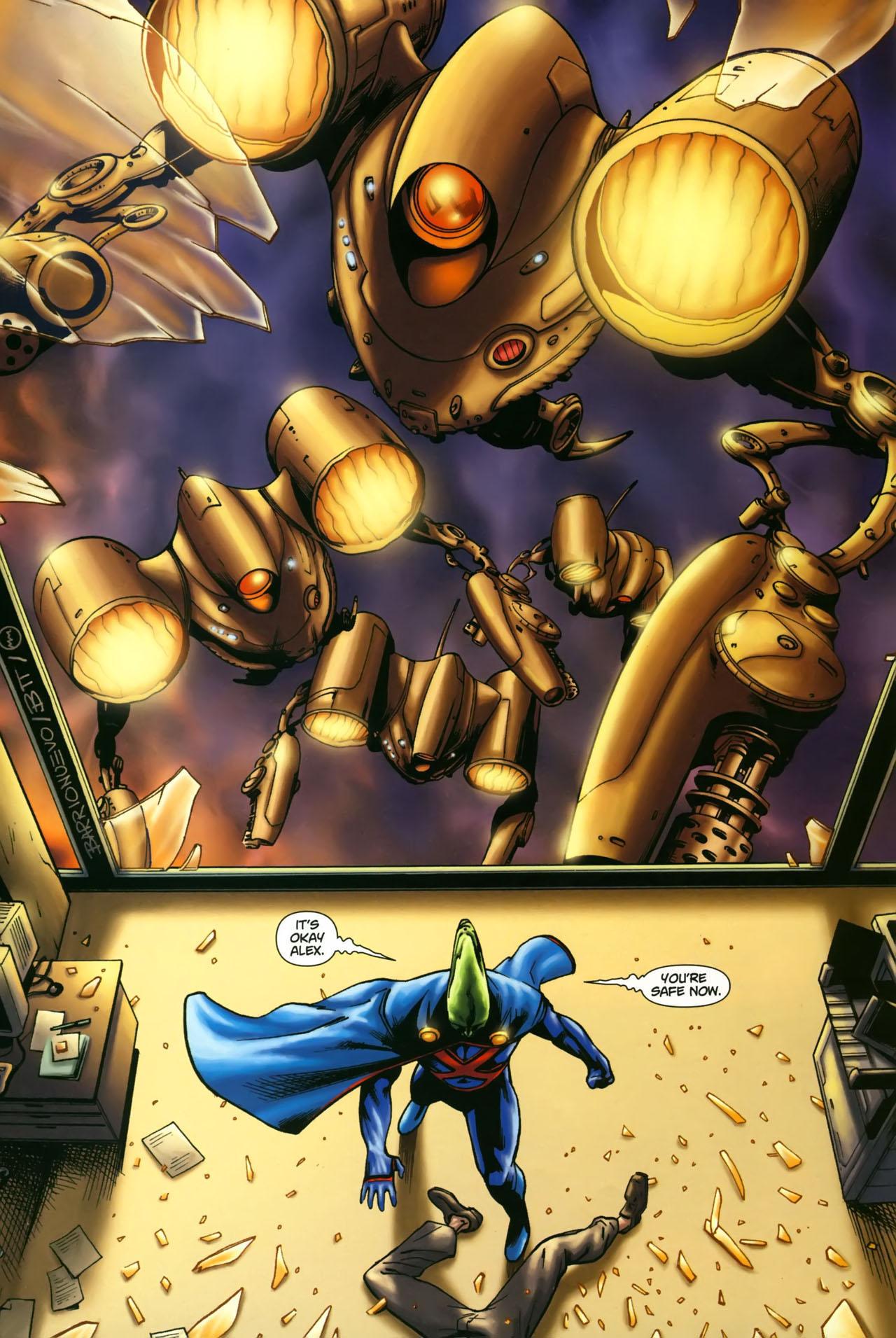Read online Martian Manhunter (2006) comic -  Issue #3 - 17