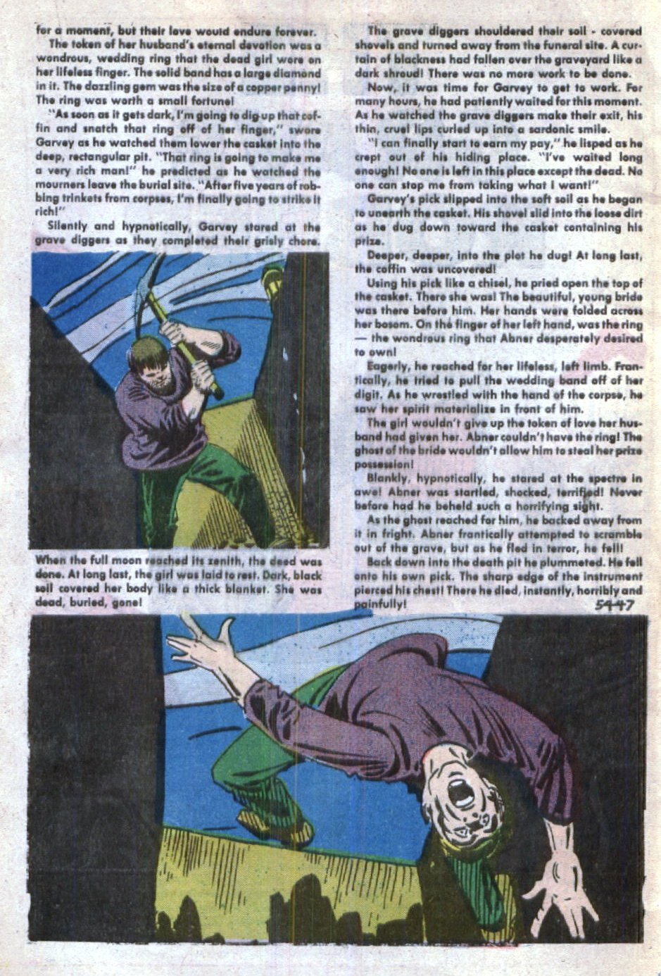 Read online Scary Tales comic -  Issue #29 - 32