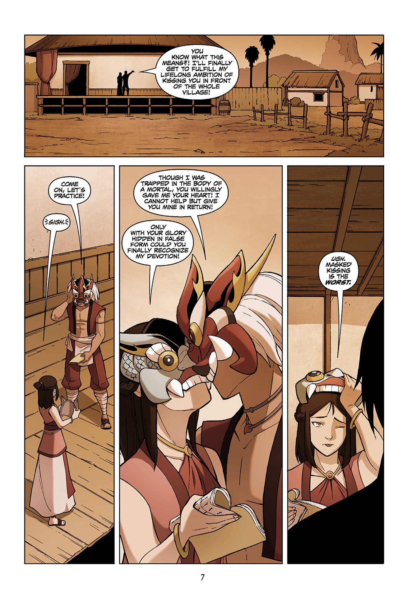 Read online Nickelodeon Avatar: The Last Airbender - The Search comic -  Issue # Part 1 - 8