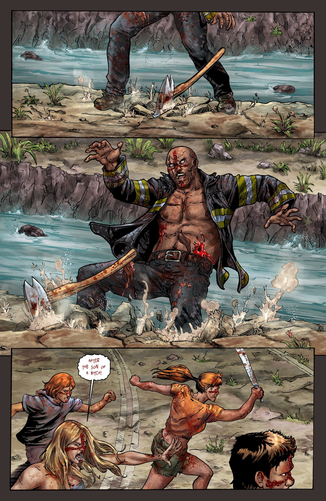 Crossed: Badlands Issue #100 #103 - English 20