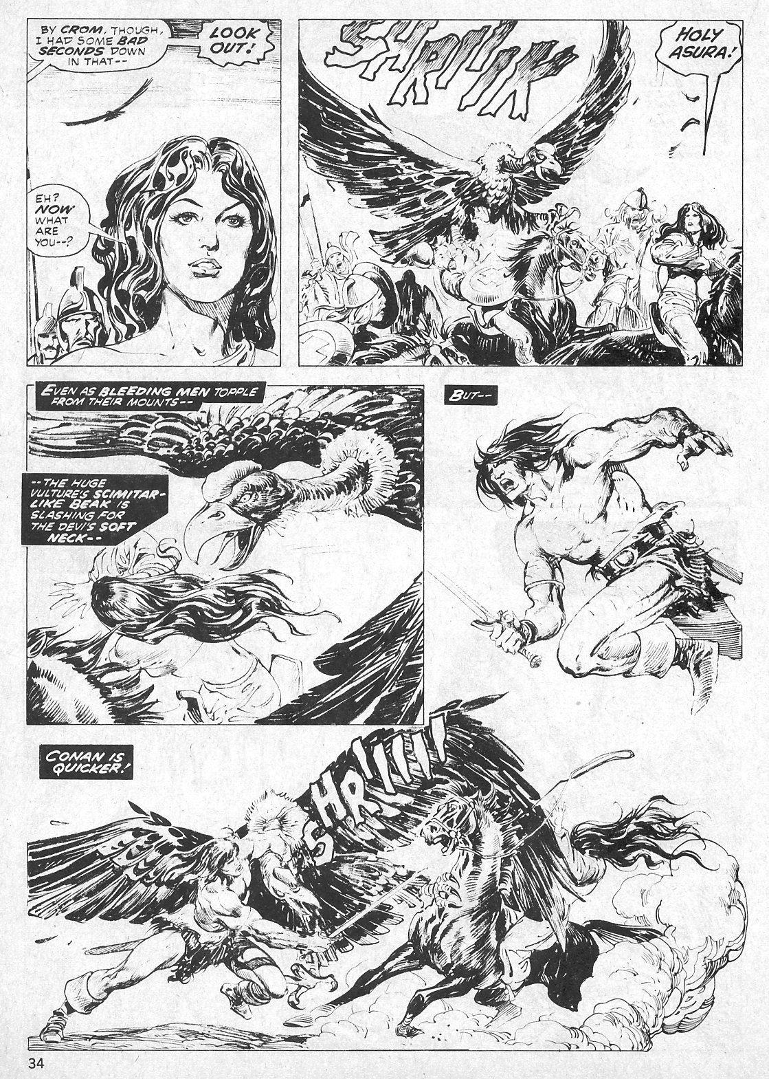 The Savage Sword Of Conan Issue #19 #20 - English 34