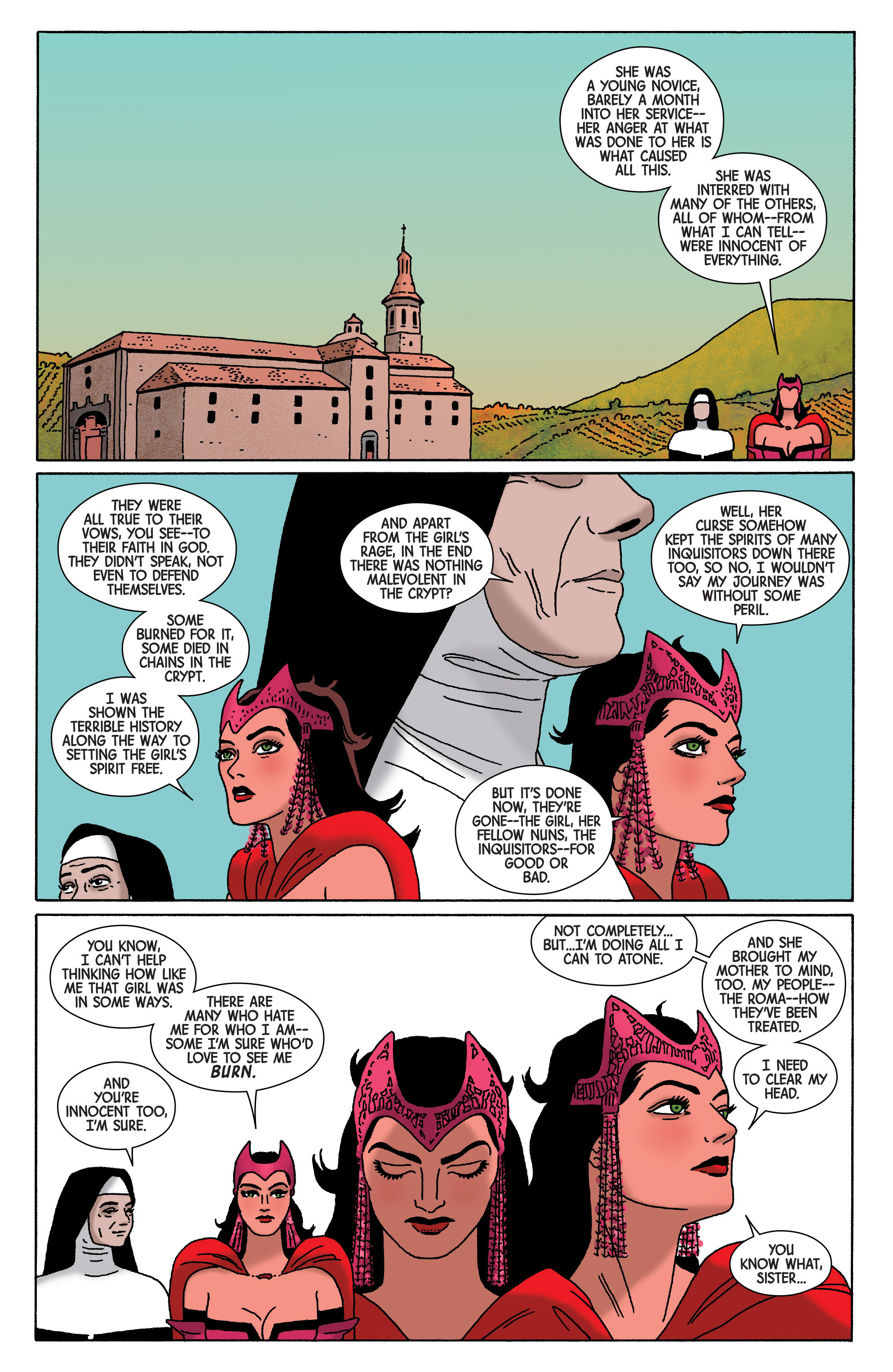 Read online Scarlet Witch (2016) comic -  Issue #5 - 15