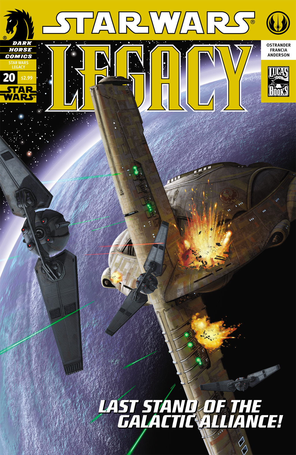 Star Wars: Legacy (2006) issue 20 - Page 1